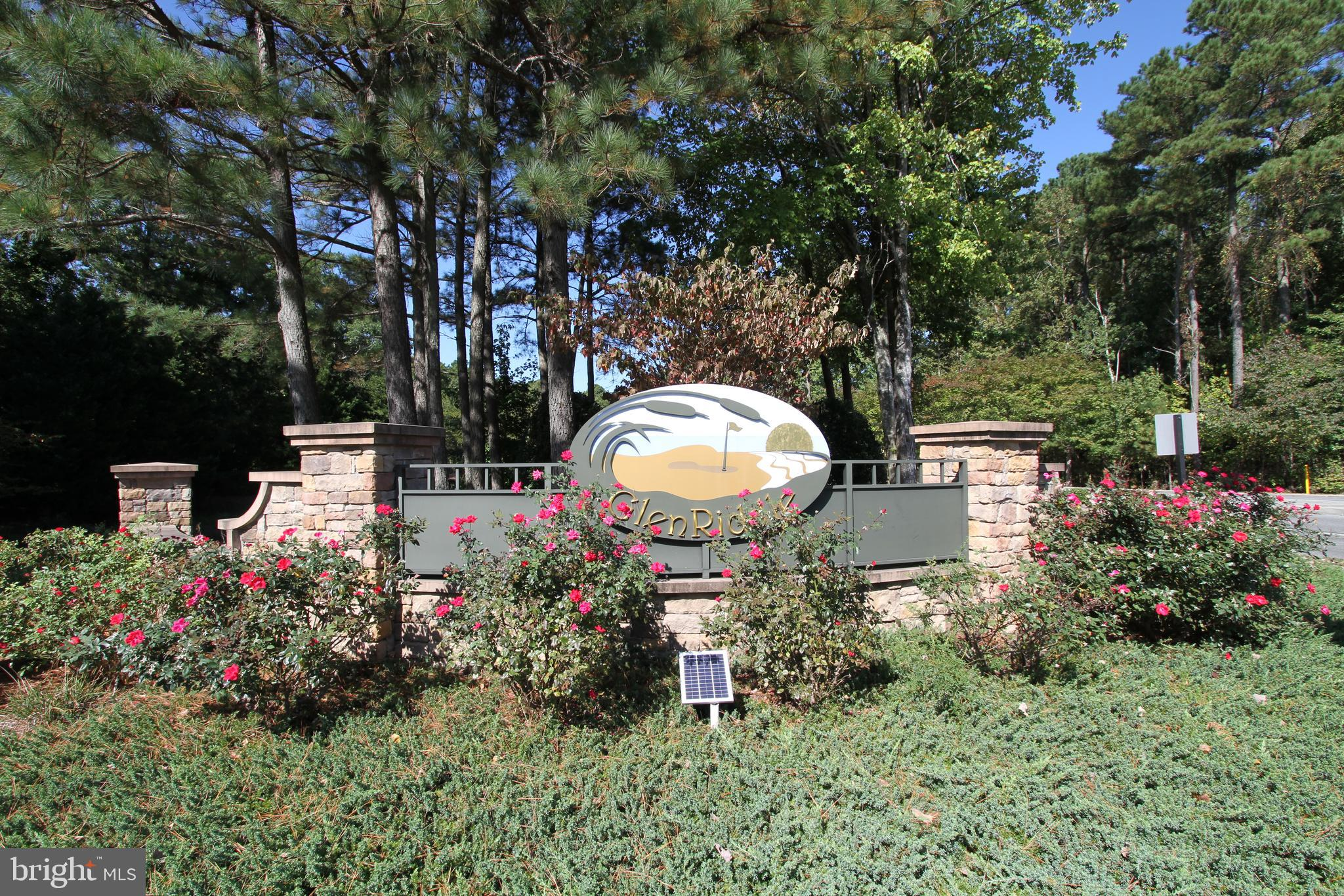 Very Nice Cleared Corner Lot in Glenn Riddle Community with All the Amenities. Located on Well Established Area. Corner  Lot Offers many Design Possibilities, Minutes from the Beach, Berlin....Come and Build your Beach House.