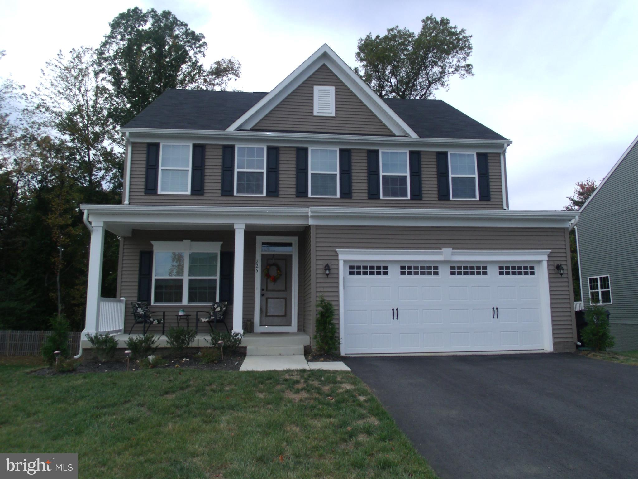 You'll love this delightful 3-story Colonial home located minutes from I-95 and the VRE in Stafford