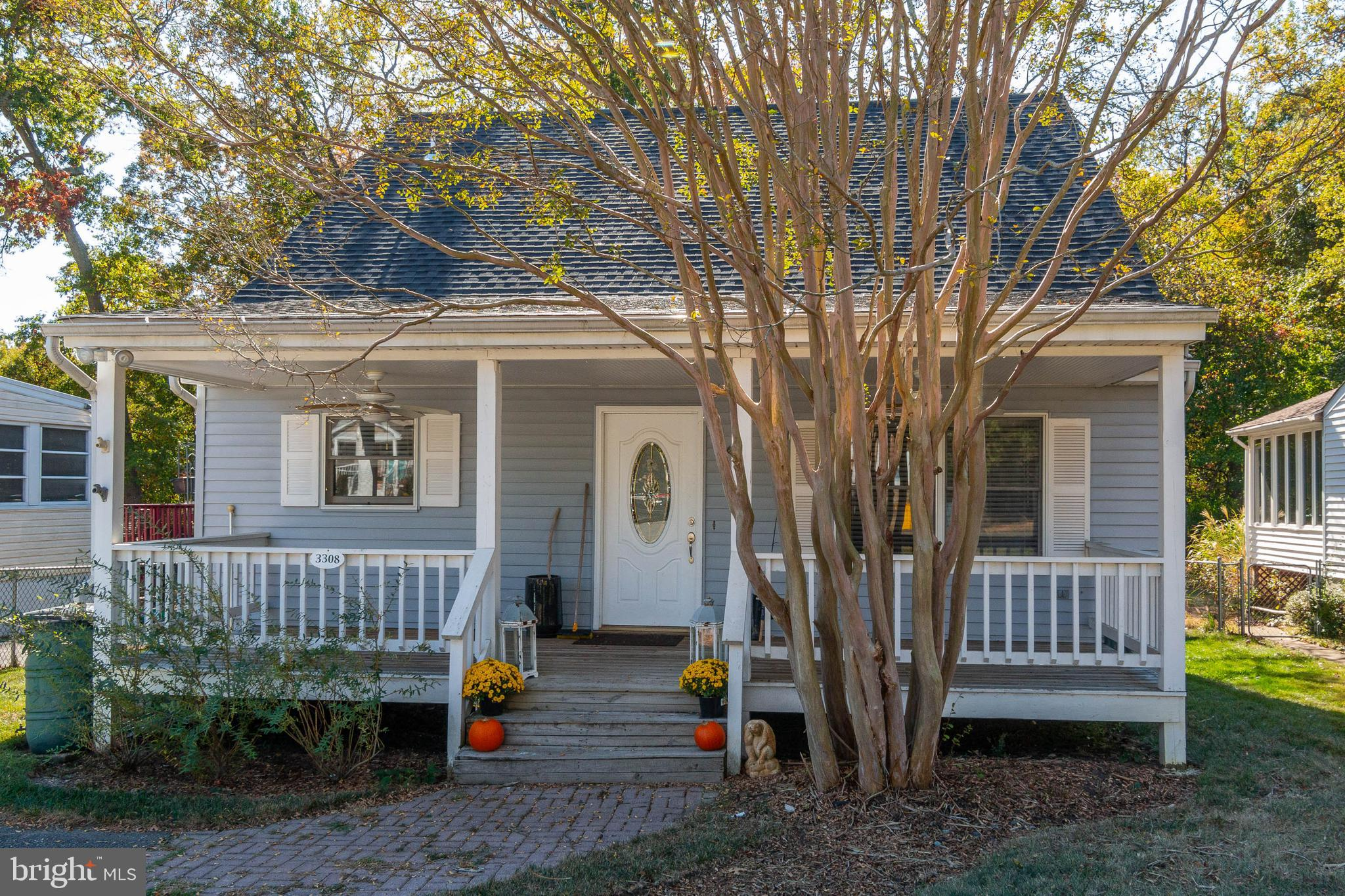 Welcome to this adorable home located in water oriented Oyster Harbor.  Step up onto the lovely fron