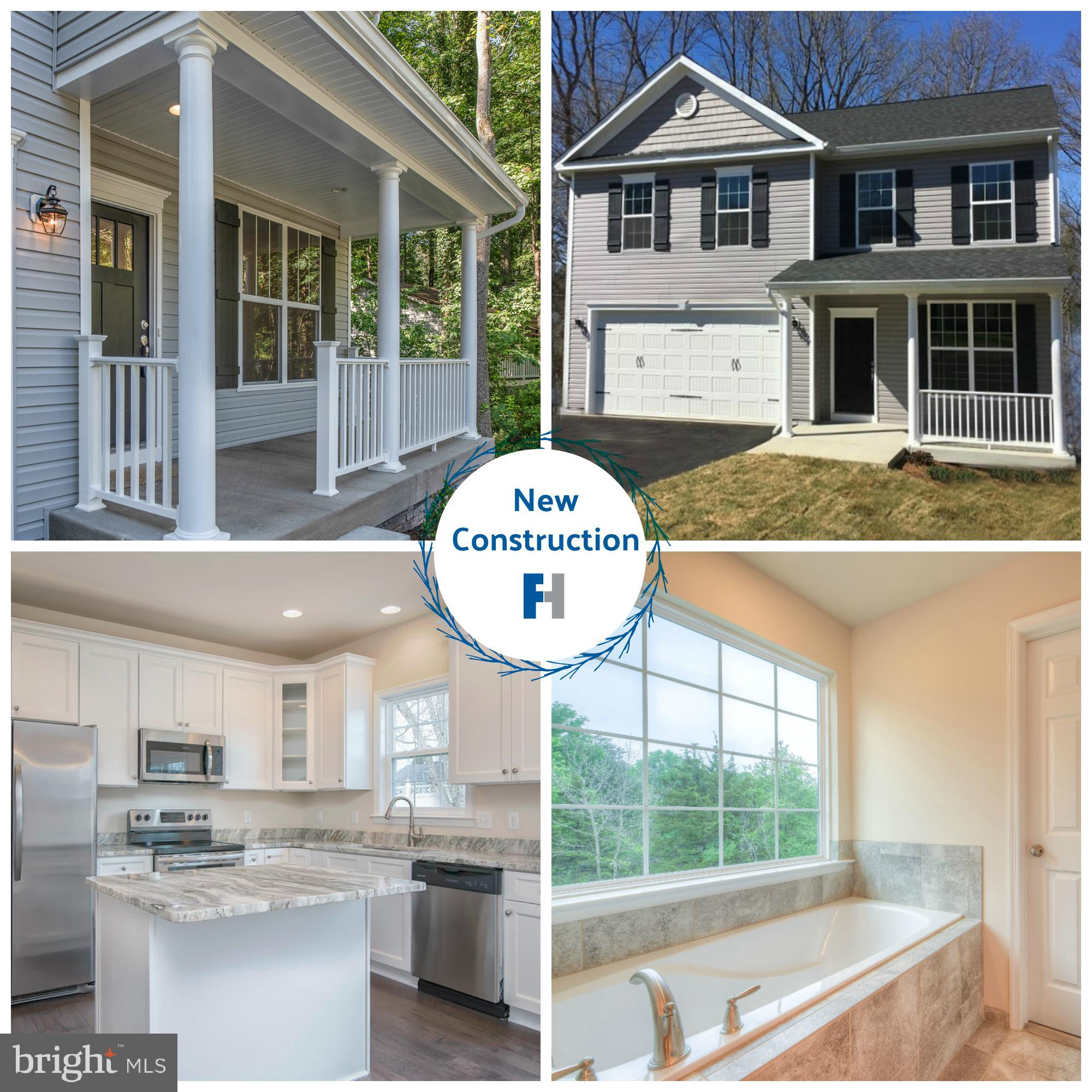 **NO WAIT NEW CONSTRUCTION ** Estimated Delivery Early Nov 2019 Beautiful wooded privacy w/ no HOA o