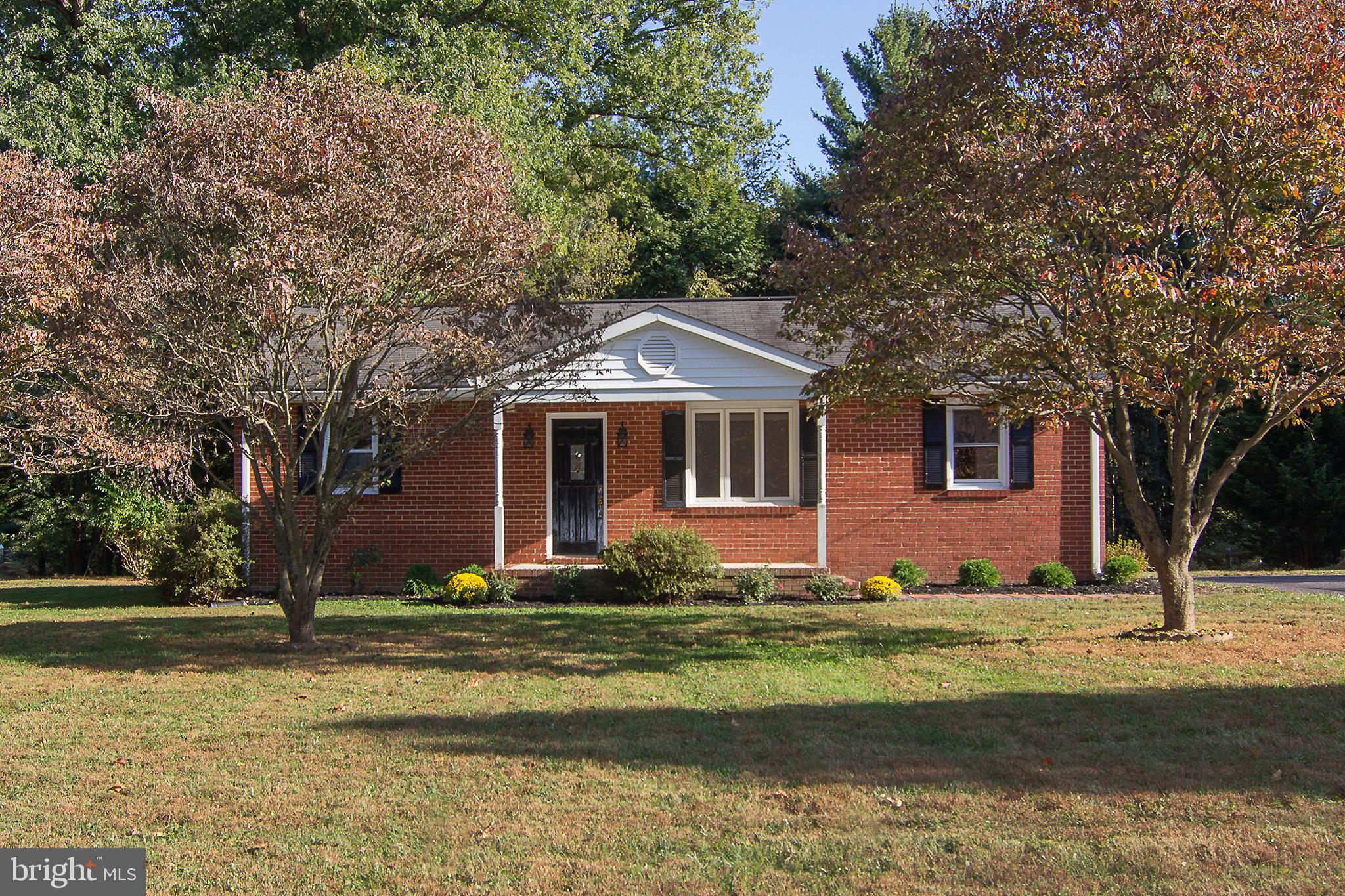 Enjoy this lovely all brick ranch which has been updated to turn key occupancy.  The home has beauti