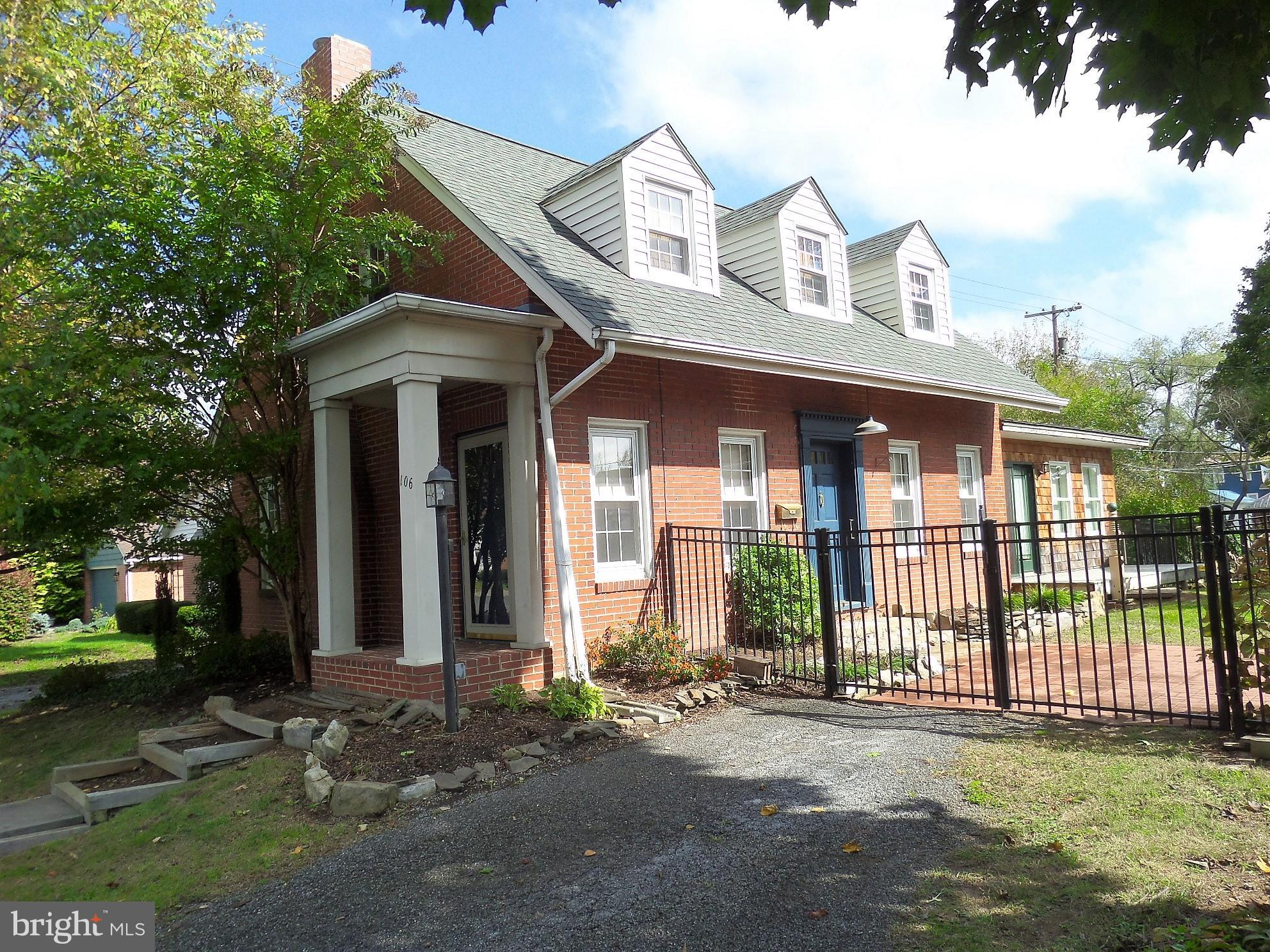 Brick Cape Cod in a convenient west end location! Updated  3 bedroom 2.5 bath home with main level m