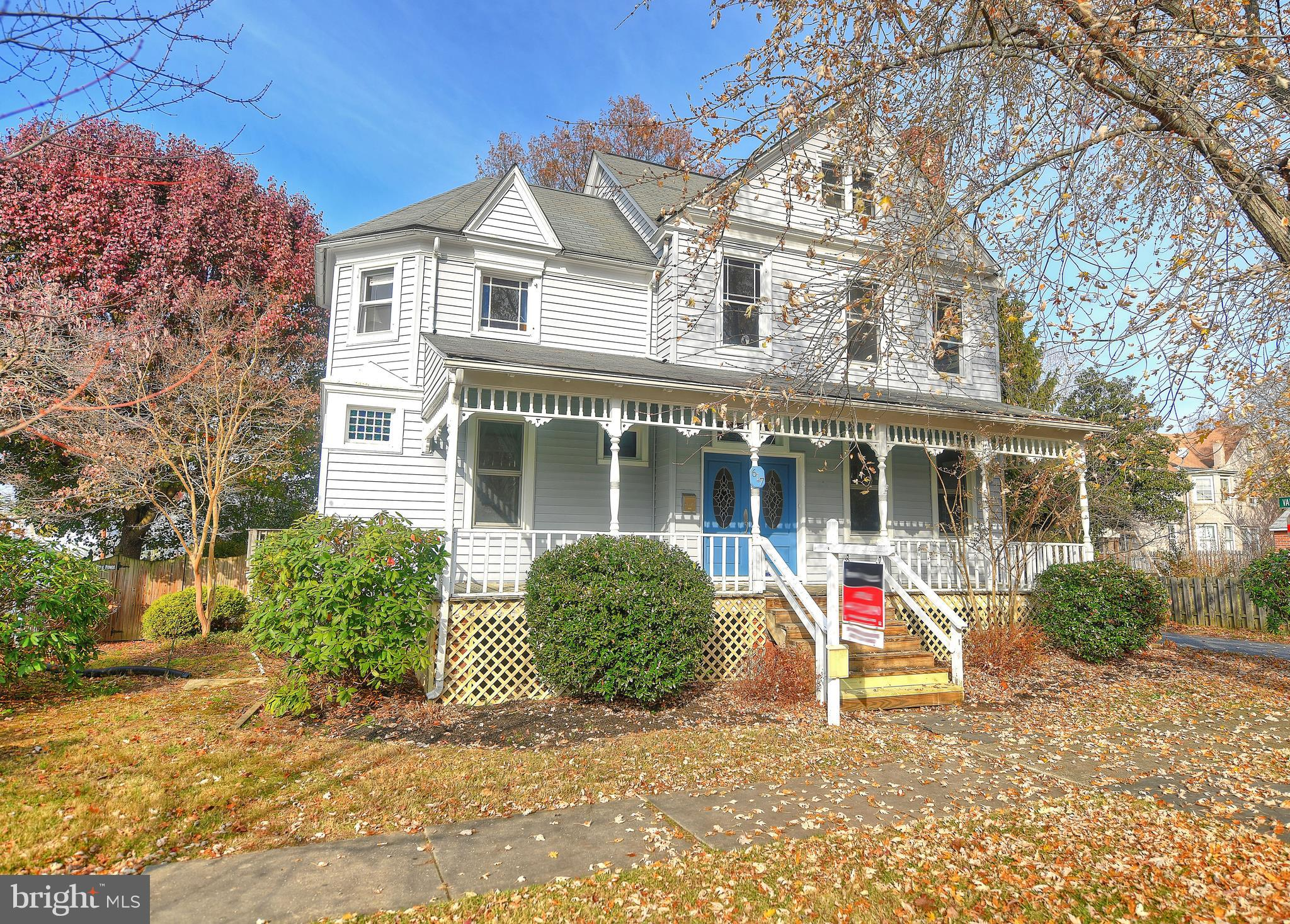 OPEN HOUSE SUNDAY 11/24 FROM 2-4PM.  Beautiful 4 level Victorian in the town of Havre de Grace with