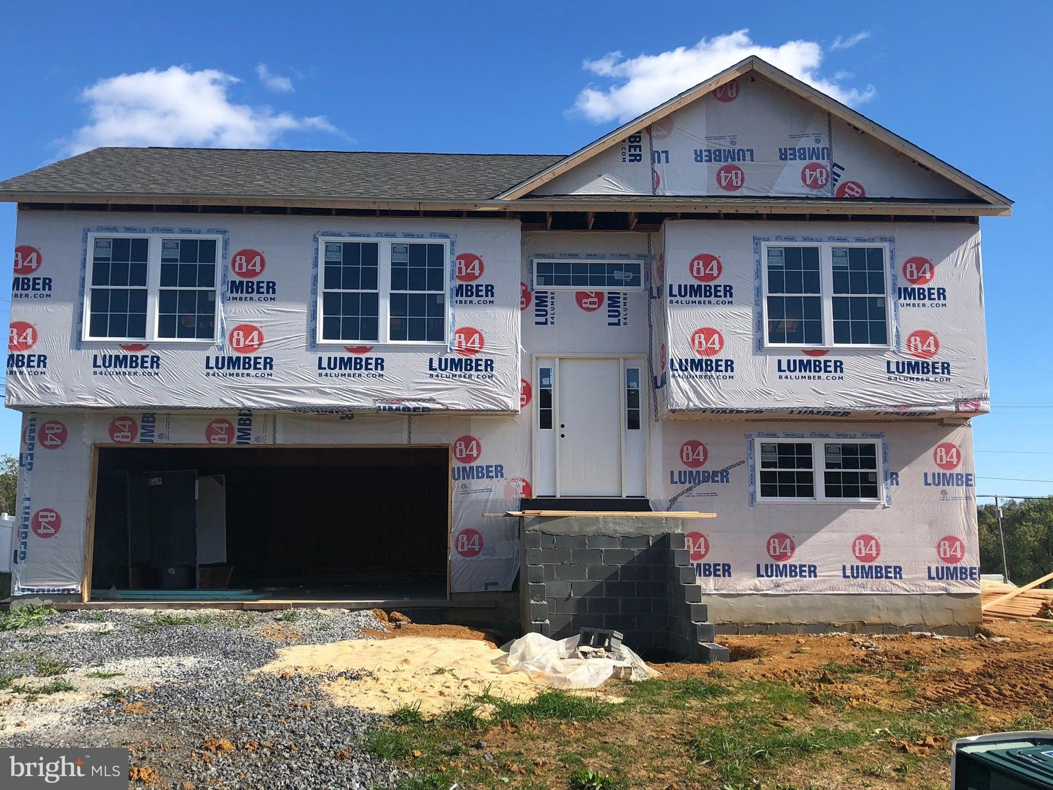 We are moving right along! This new home is scheduled for completion within the next 30-60 days. **B