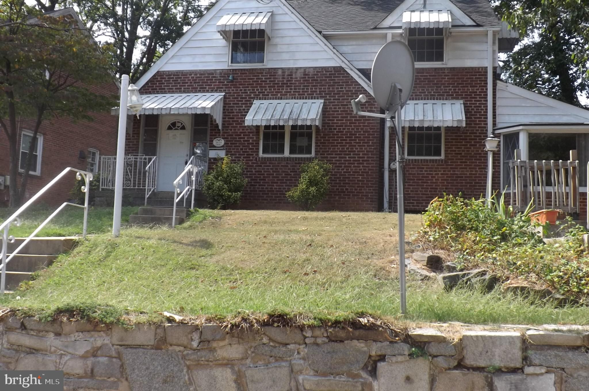 """Great starter home. Good Investment Opportunity!!! """"As Is""""  Close to BWI Parkway.  Property built pr"""