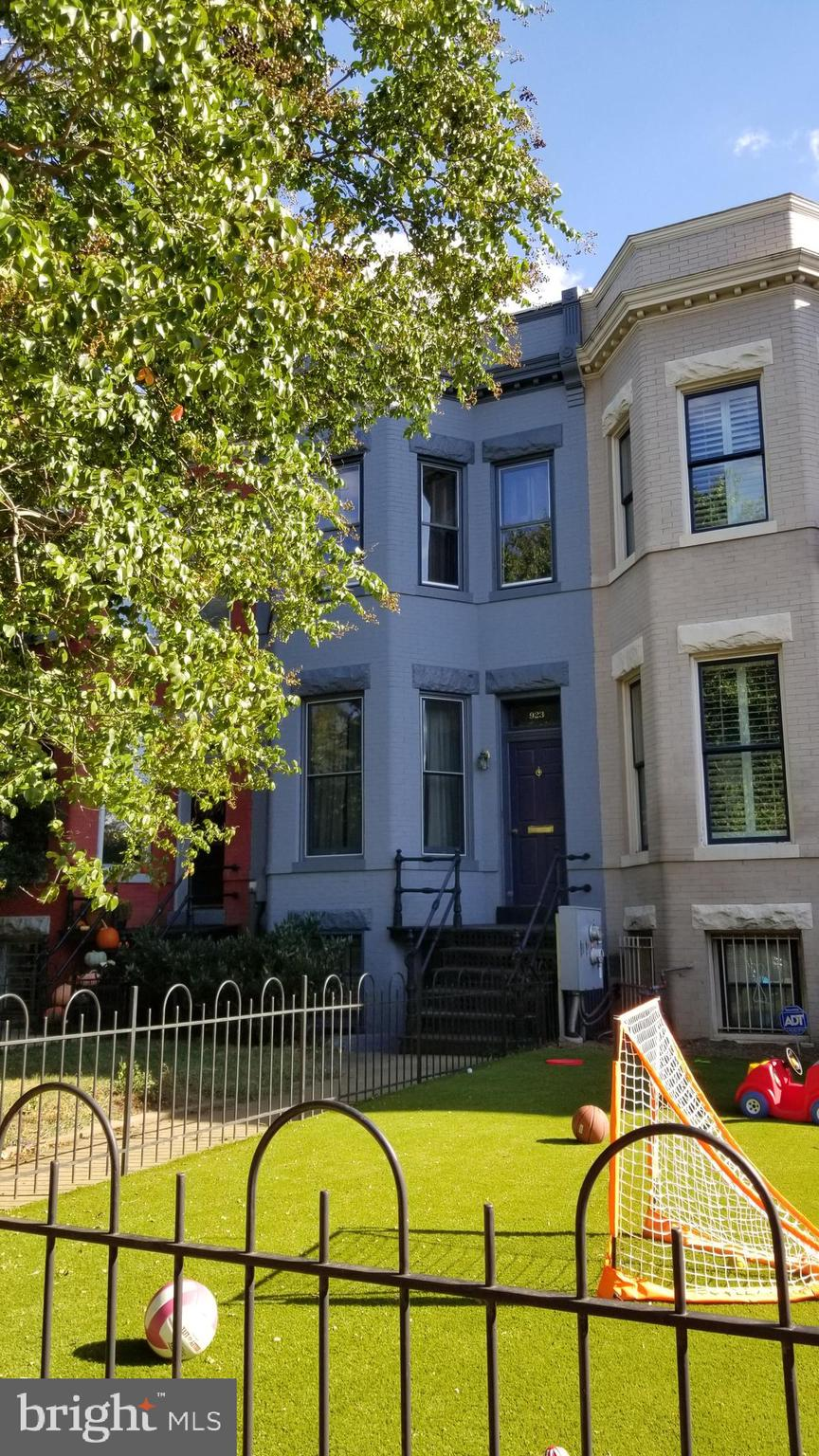 """Livable but in need of updates.  Located a short distance to Metro, Trader Joe's, Eastern Market Barracks Row. Featuring high ceilings, generous rooms and plenty of light. Fenced front and rear yards. Sold Strictly """"AS-IS'."""