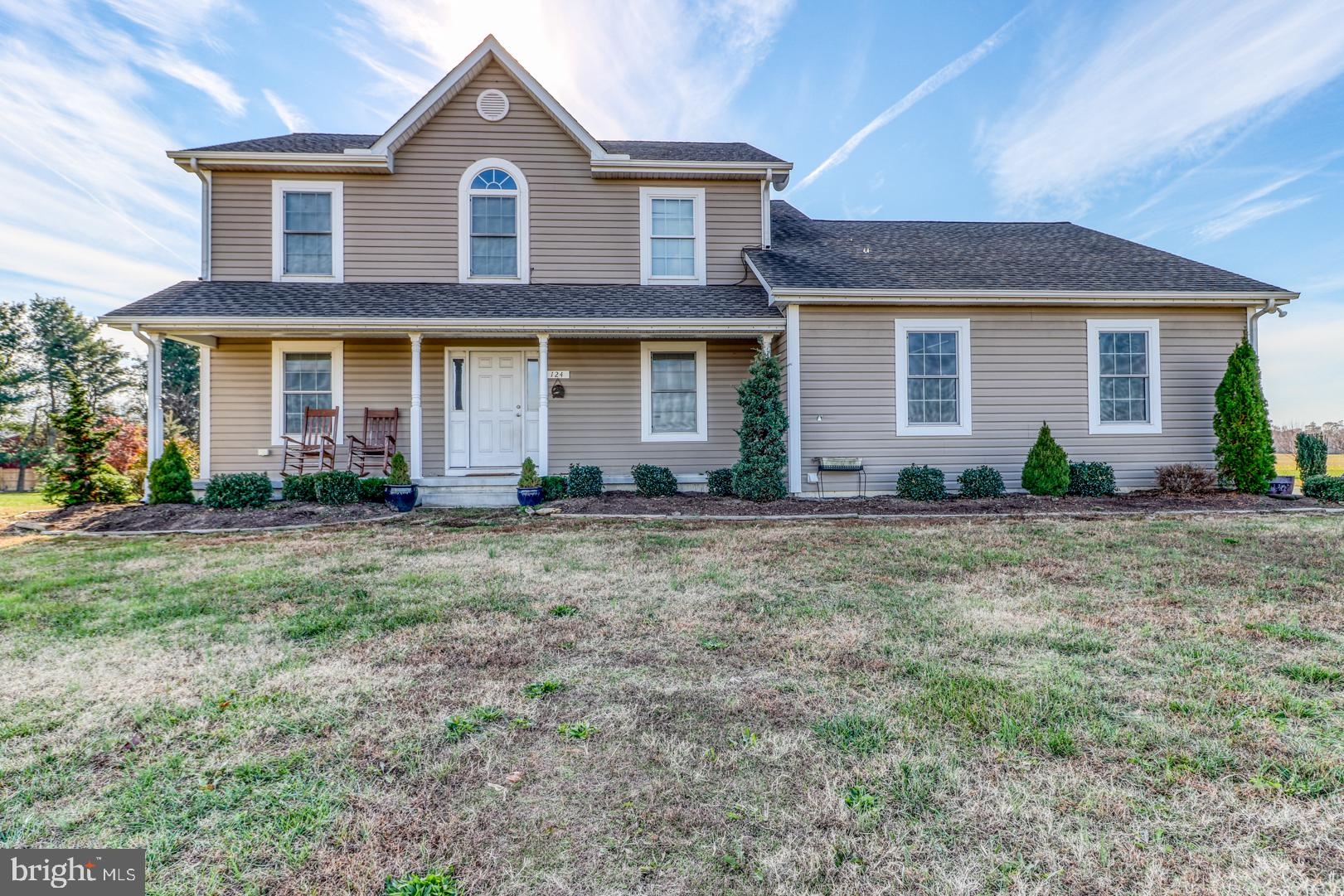 Spacious 4BR 2.5 BA Home on 2.33 Acres. Home is located in Church Hill, but is one of the rare finds