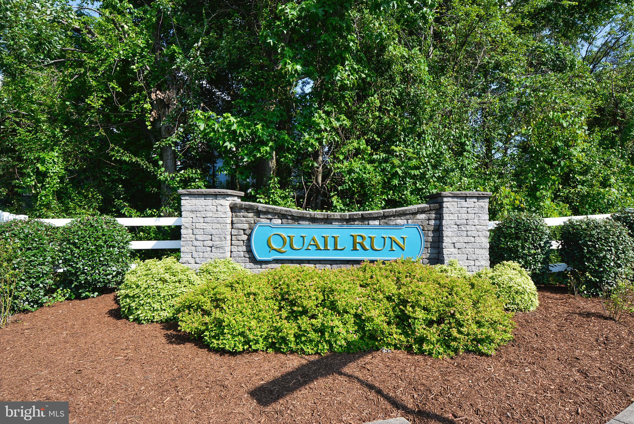 You~ll love this charming rarely available 3-story end of unit townhome in desirable Quail Run Community. This 3 bedroom 2. 5 bathroom fenced in home will give you over 1,700 Sq ft of generous space to move about. Enjoy this cozy living room which features a gas fireplace. Recent upgrades includes new flooring throughout the kitchen and family room. Brand new stainless steel appliances, new carpet, and fresh paint throughout! Laundry room located on the upper level  Wake up each morning in a large master bedroom located on the 3rd level which features a siting room, walk-in closet and renovated en-suite bath. Easy access to parks, library, commuter routes, BWI airport, shopping and more! This home is ready for buyers!