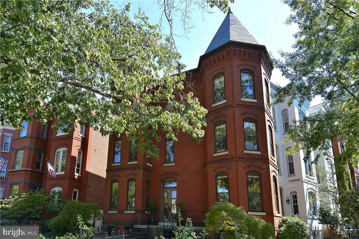 SPECTACULAR OPPORTUNITY!! Elegant corner lot with turreted Victorian Mansion just two blocks to US C