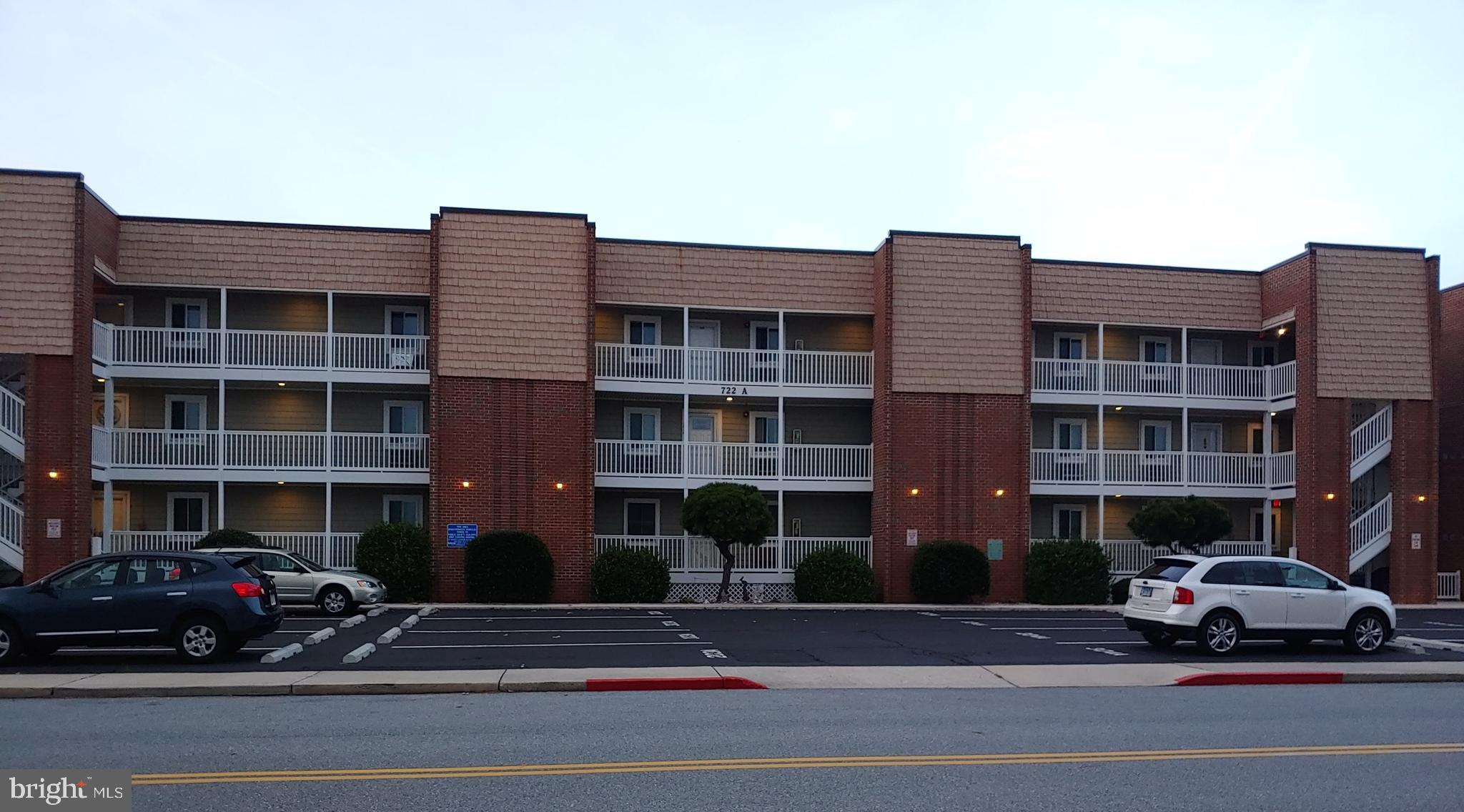"""Turnkey Beachy style condo in a small, 3-story Bldg. Seller's Personal Vac-Condo(never rented). Both Bathrooms Remodeled 2 Yrs ago/Brand new DW/Pella Sliding Glass Doors & 2 Windows W/inside Blinds replaced 3 yrs ago/4-Window AC units replaced 3-4 yrs ago/Carpet in LR & BR's 2 yrs old. Strong Condo Assoc & Prop Management Co. Many recent Bldg Replacements & Improvements (including Top-Off-Vinyl Siding, Storm Doors, Trex Railings & Steps in 2016. Pkg Lots repaved/2017. A & B Bldg's had new Roofs/2019, (W/new Industry Material-called """"TPO Roofing Membrane""""). New Bulkhead on Bldg B. This Condo is located in Bldg """"A"""" which is the closest of the 3 Bldgs to the Bayfront. Assigned Pkg Space per Unit Owner. Spacious Private Canan-side Balcony (access from the Liv Room & Mstr BR), Grassy-yard for grilling on warm beach nights."""