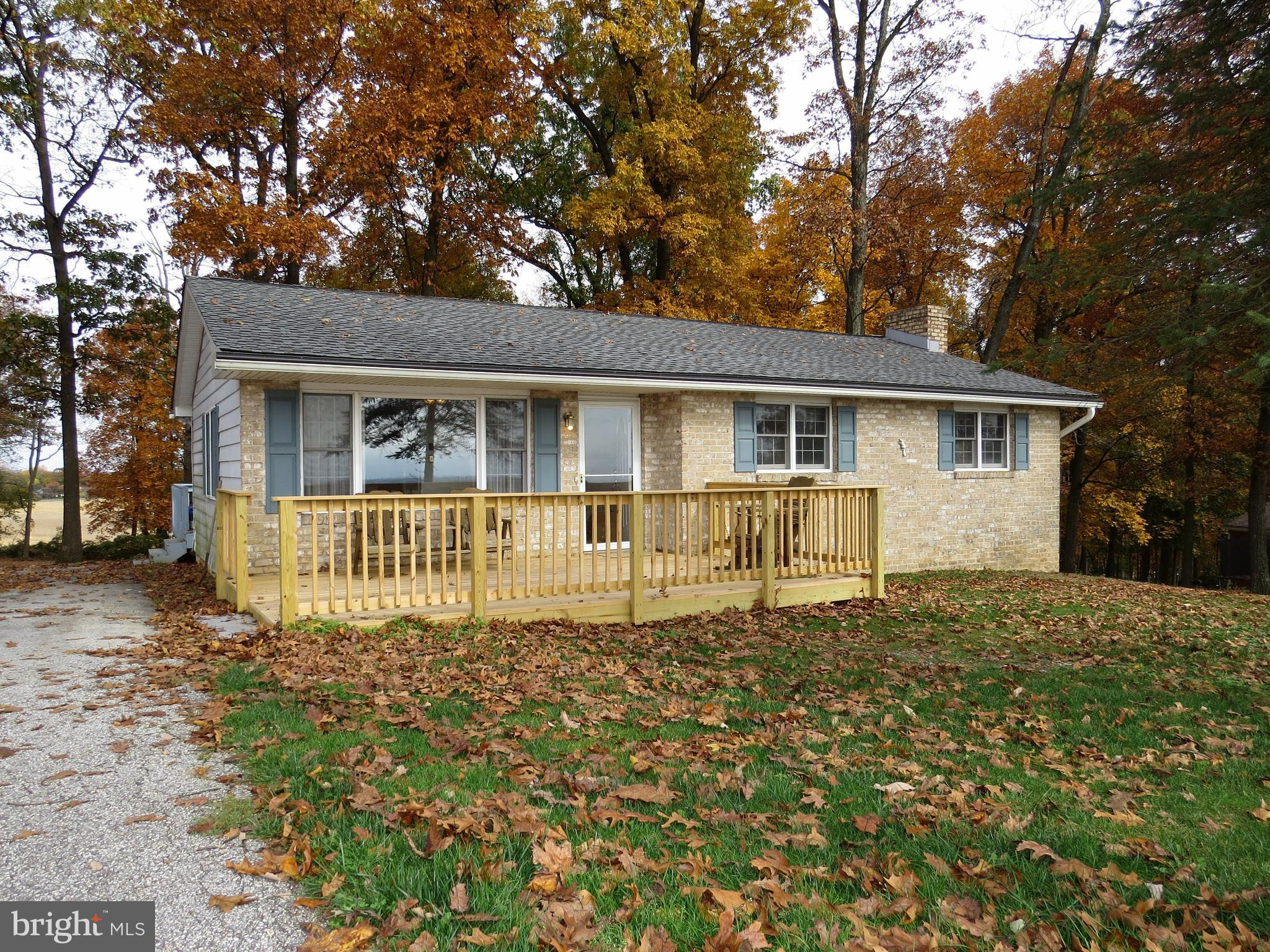 Park like setting, 2 bedroom home that had originally been designed with 3 bedrooms.  2nd bedroom of