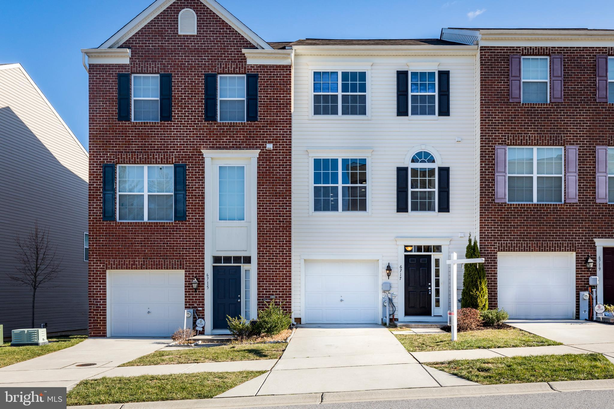 Exceptional  6 Year Young 3 Level Garage Townhome in Highly Desired Simpson Mill.   Bump Outs and 9