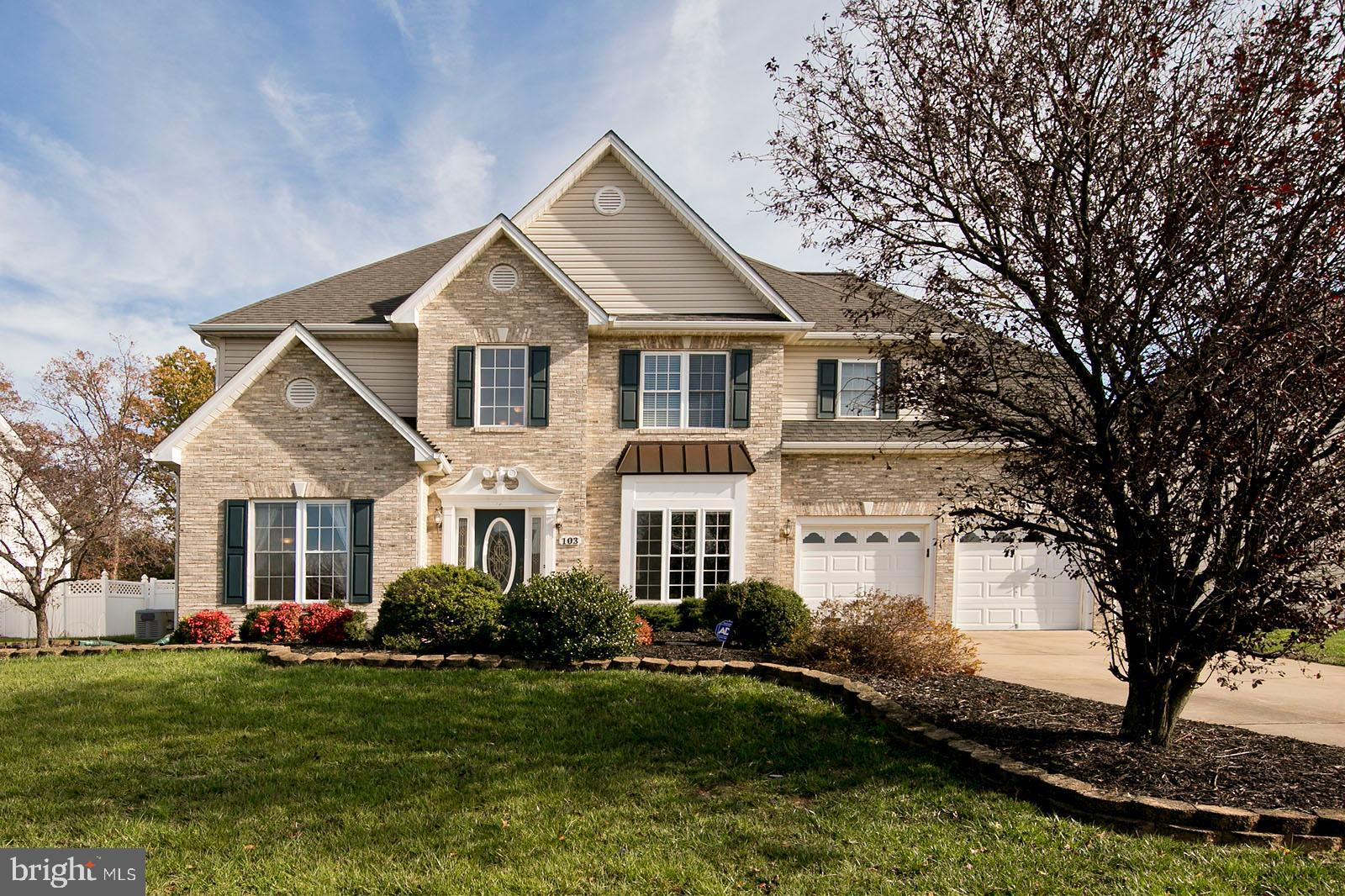 Welcome to this spacious 2 story Foyer & family room home with newly finished hardwood floors located in the inviting Camp at Mosby Station subdivision. Three levels of over 3000+ sq ft including a family room conveying a cozy gas fireplace and plenty of windows for natural lighting. Separate dining room with hardwood floors complimented by chair railing. Gourmet kitchen includes upgraded Dupont quartz countertops with a built-in microwave and oven. Large master suite is newly carpeted with tiled master bathroom. New carpets in all bedrooms and recently painted main floor and upstairs hallway. Partially finished basement to extend your living space. Possibly theater room or rec room? Surrounding additions include trex deck, fence, shed and patio.  Community amenities include wooded and cleared common areas, sidewalks, and a surrounding bike path for recreation. Sherando Park is just around the corner!  Whole house generator. Kids play set in the  backyard included. Washer/dryer not included.