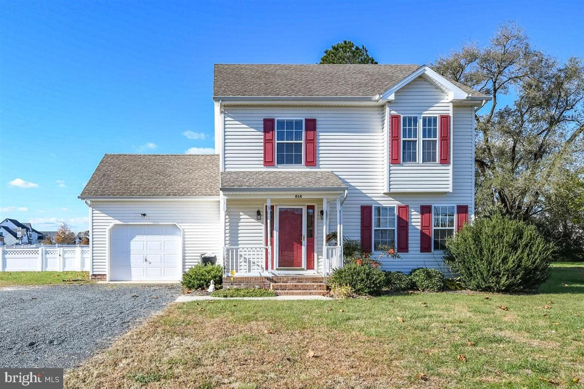 Come see this three bedroom, two and one half bathroom Colonial on a large corner lot in the East Fi