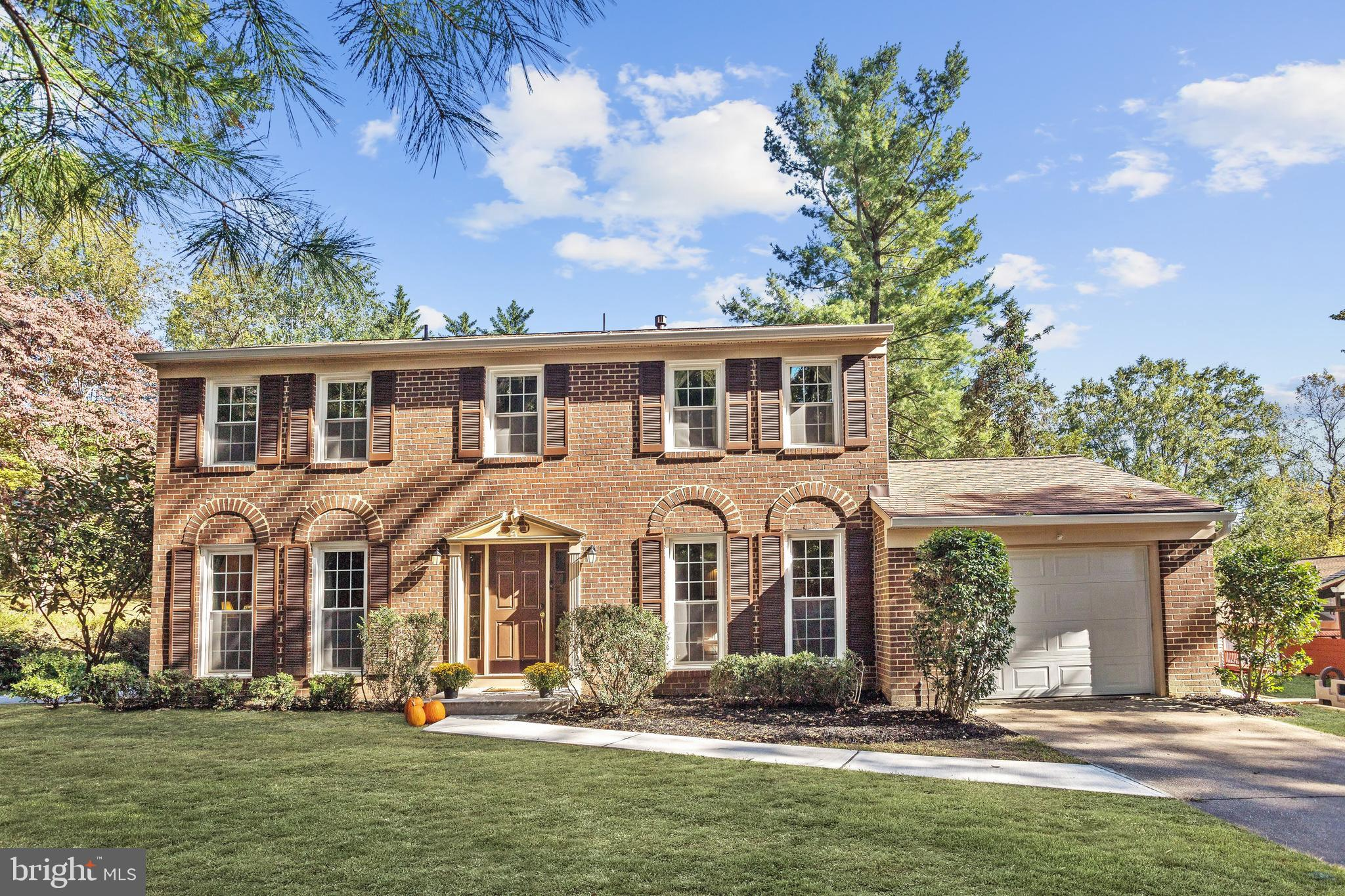 Beautiful Colonial nestled on a quiet cul de sac located in the Running Brook community of Columbia.