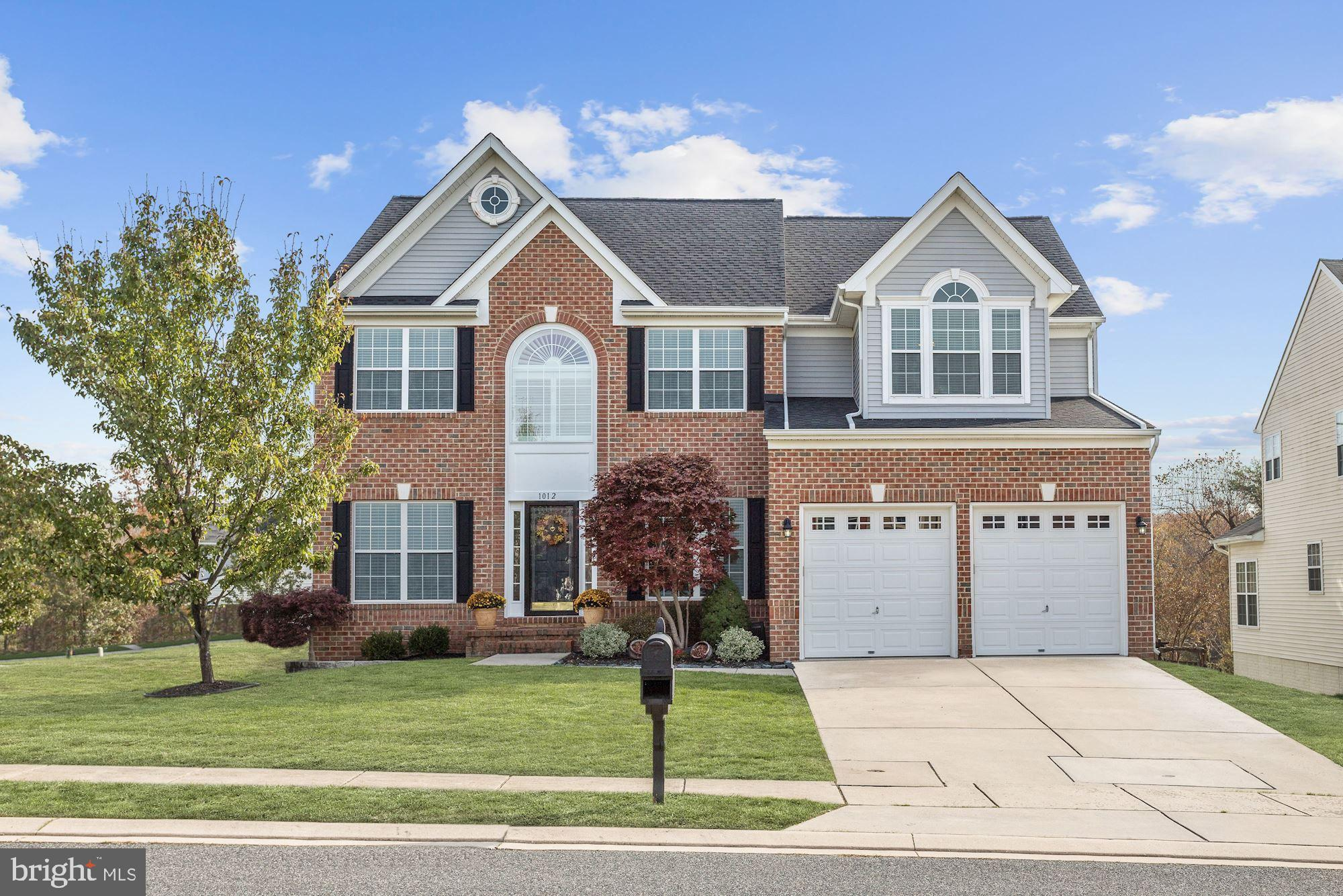 Beautiful colonial in the Cokesbury Manor community of  Abingdon!  Enter into the two-story foyer fl