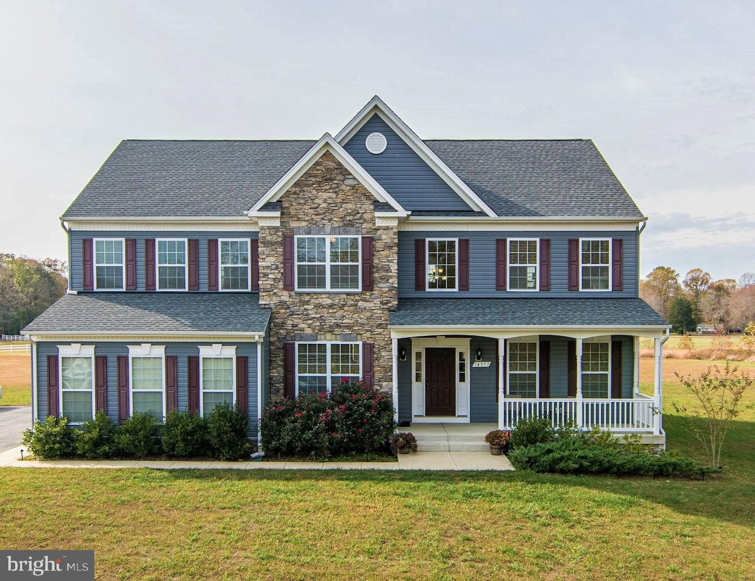 Over 5,000 square feet of finished space in this impeccably upgraded home in Hughesville.   Stone ac
