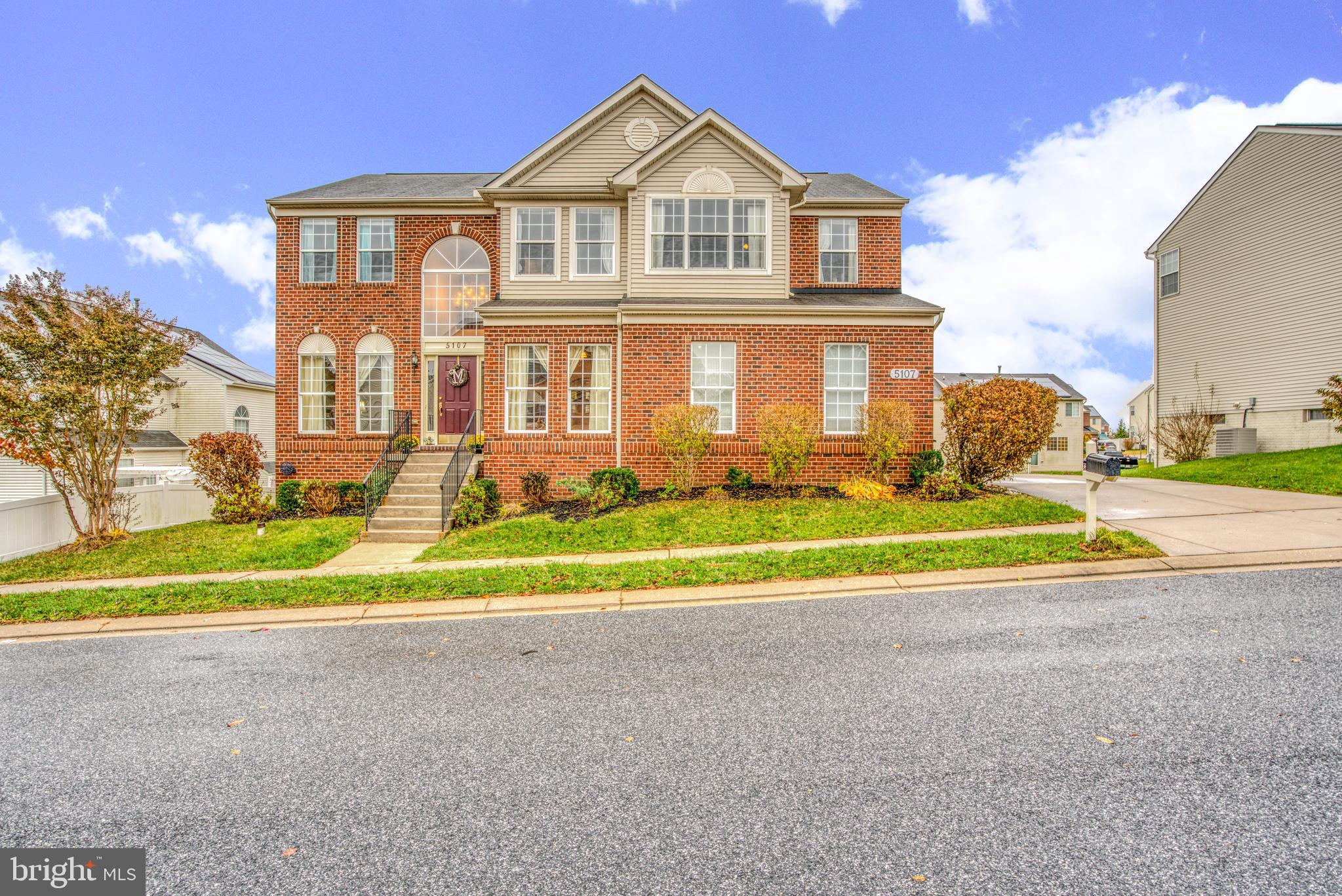 Beautifully maintained brick front 5 bedroom home in Forge Landing on A cul de sac.  Beautiful backy