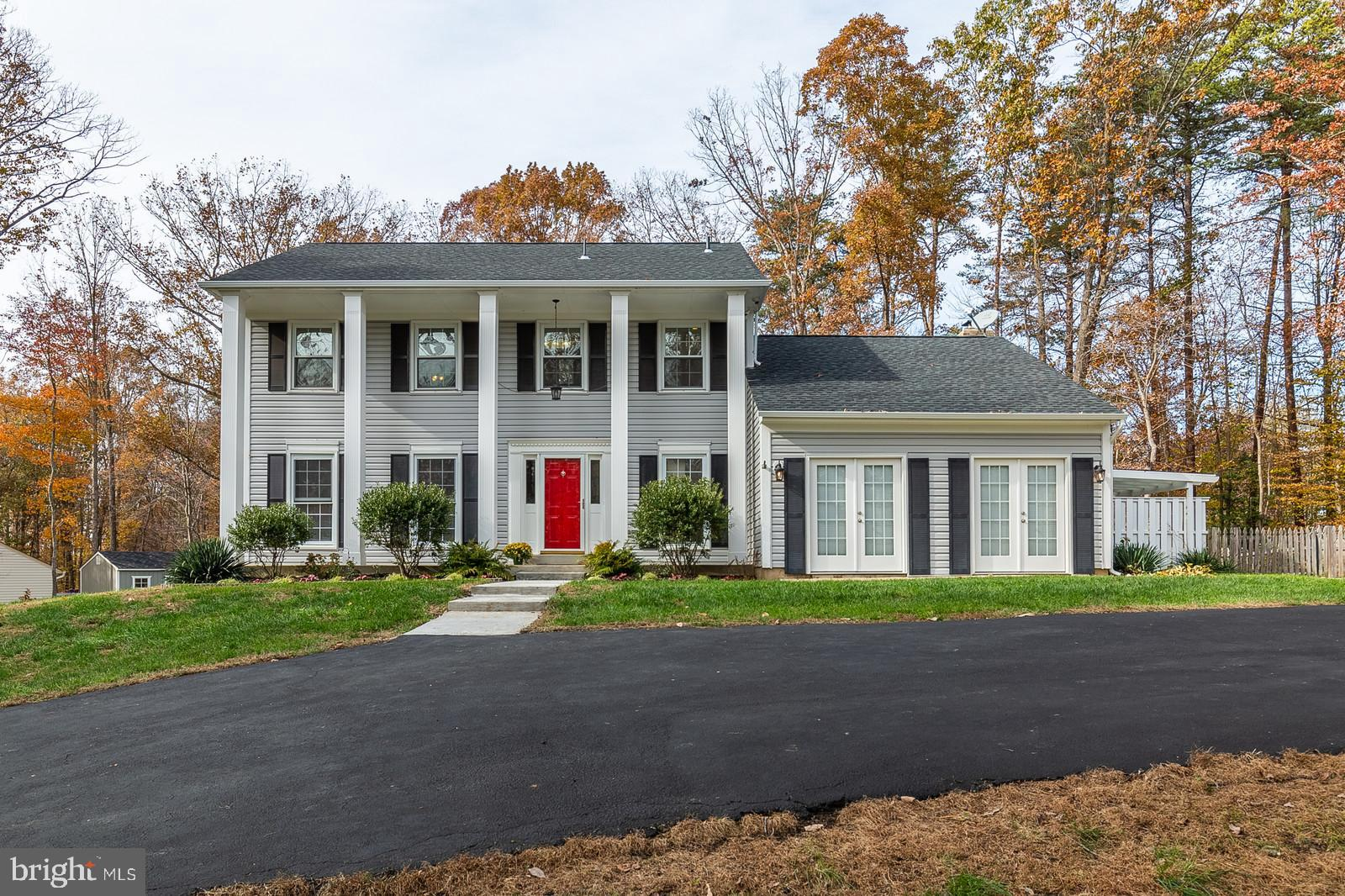 Welcome home to this beautifully updated and remodeled colonial on 1.36 acres! This home boasts a go