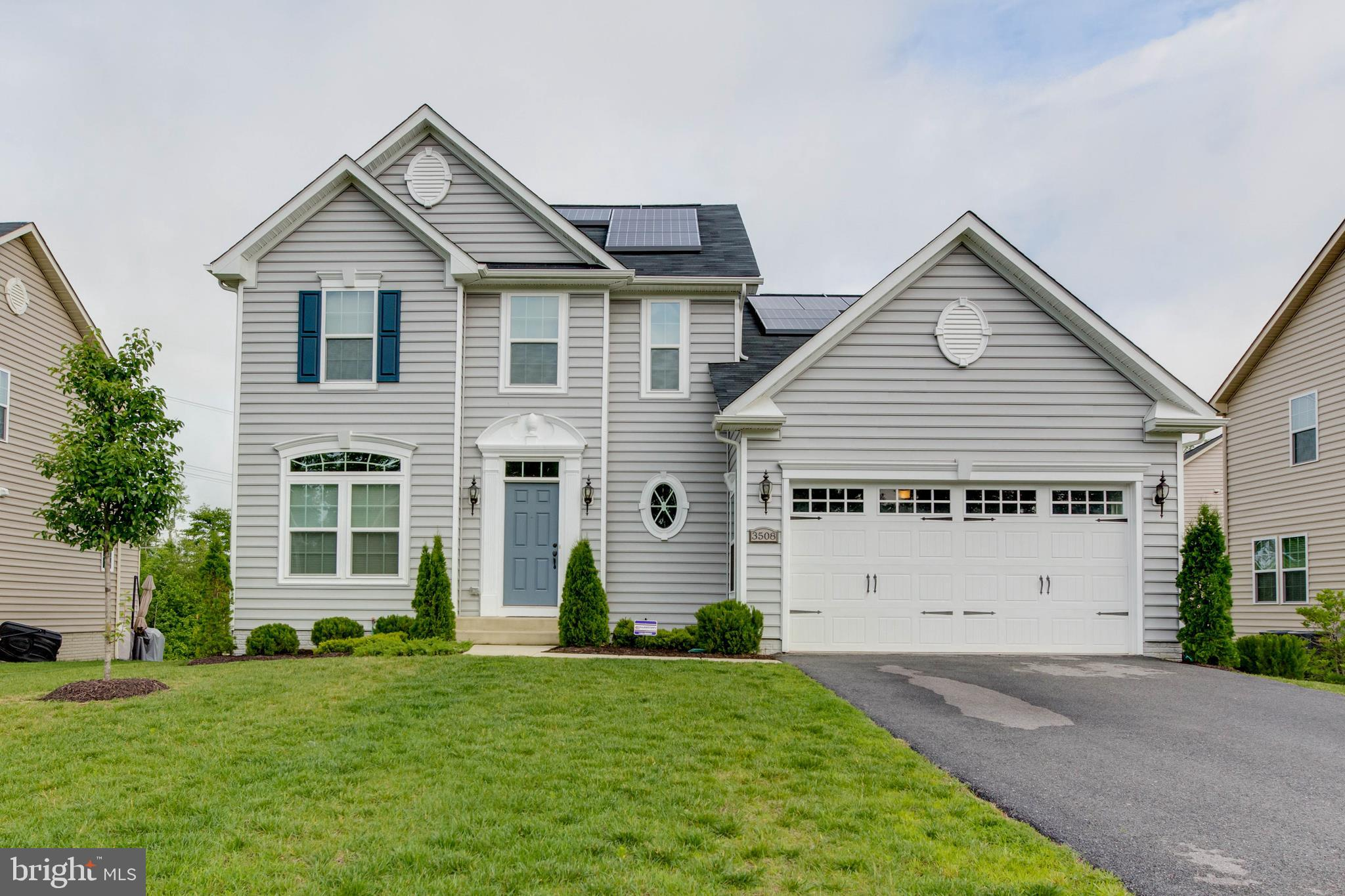 This spotless home shows like a model! Built in 2014 this gorgeous 4BR 3 1/2 bath home includes hard