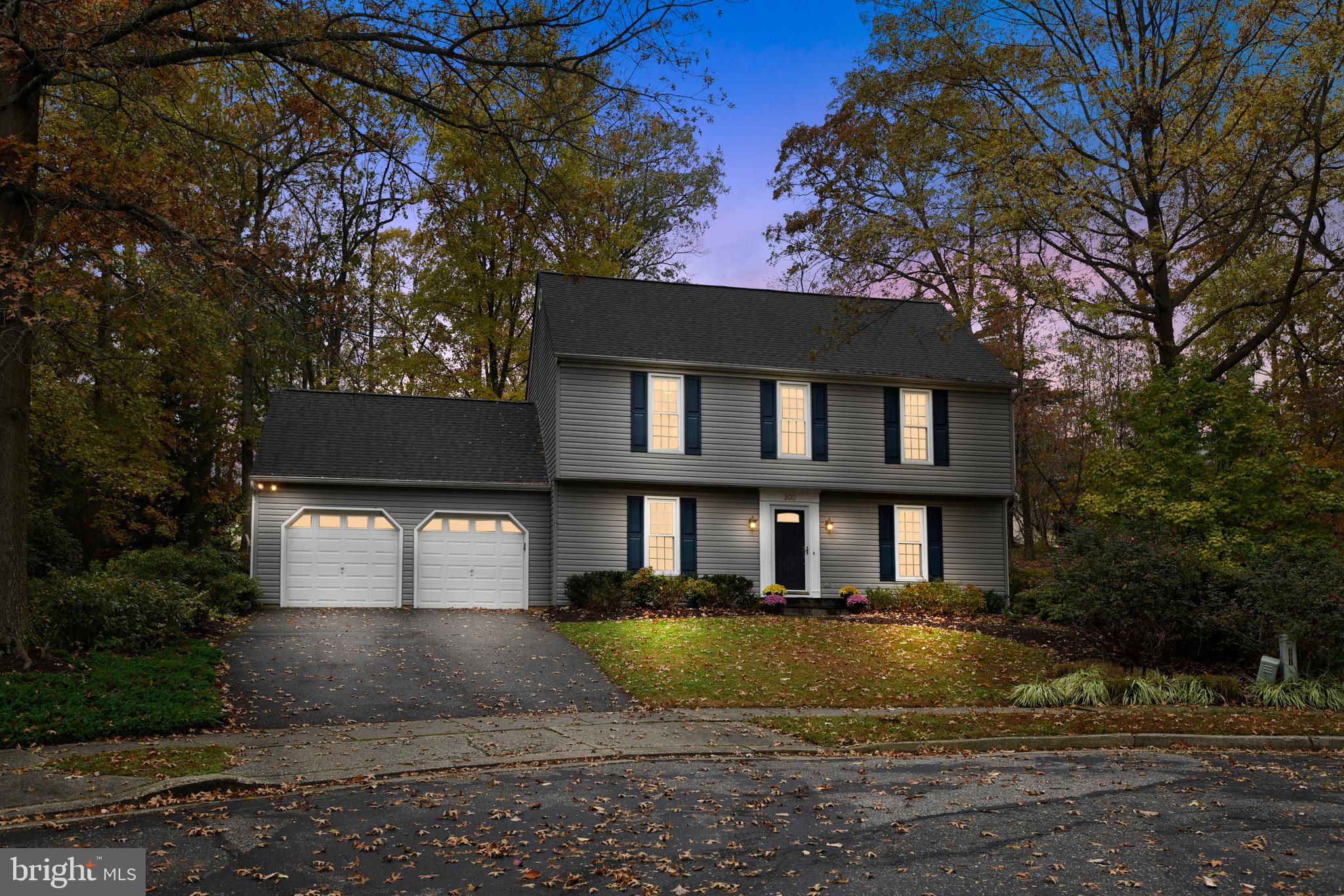 Ideally situated at the end of the cul-de-sac sits 300 Tanglewood Ct in Shipley's  Choice.  This fou