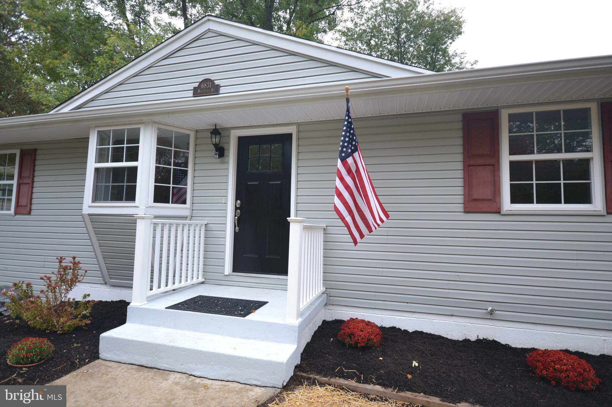 Just remodeled single level living with a full basement, home has granite counter top, glass back sp