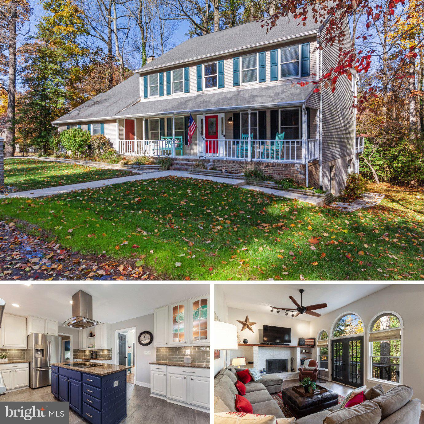 AN ENTERTAINER'S DREAM HOME -- ONLY MINUTES TO ANNAPOLIS!   This 4 bedroom, 3.5 bath home is absolut
