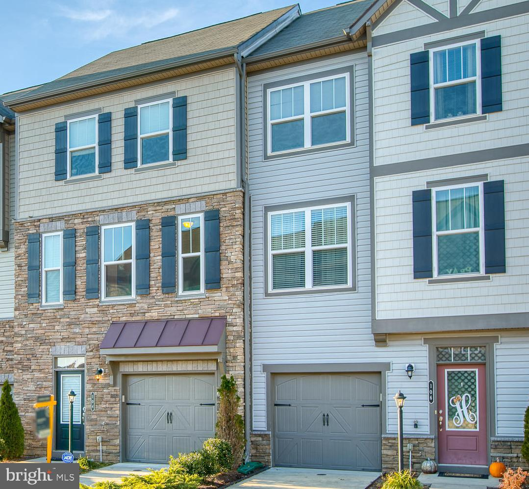 Lovely 3 level townhome in sought after Colonial Forge subdivision. 3 BR, 2 full, 2 half baths. Very