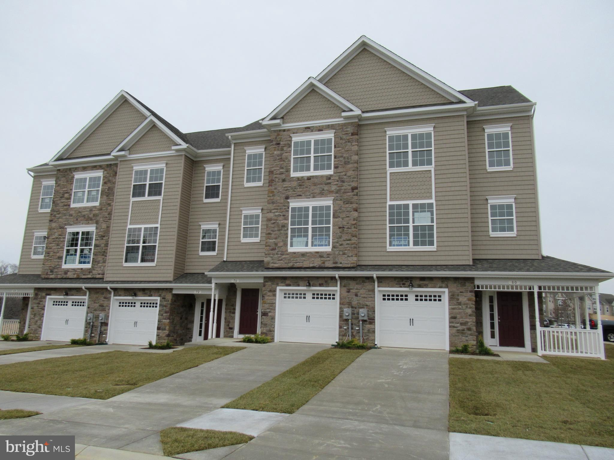 Lot 160 3 Level  Luxury Garage Townhome! This home is over 2200 square ft!  Builder incentives inclu