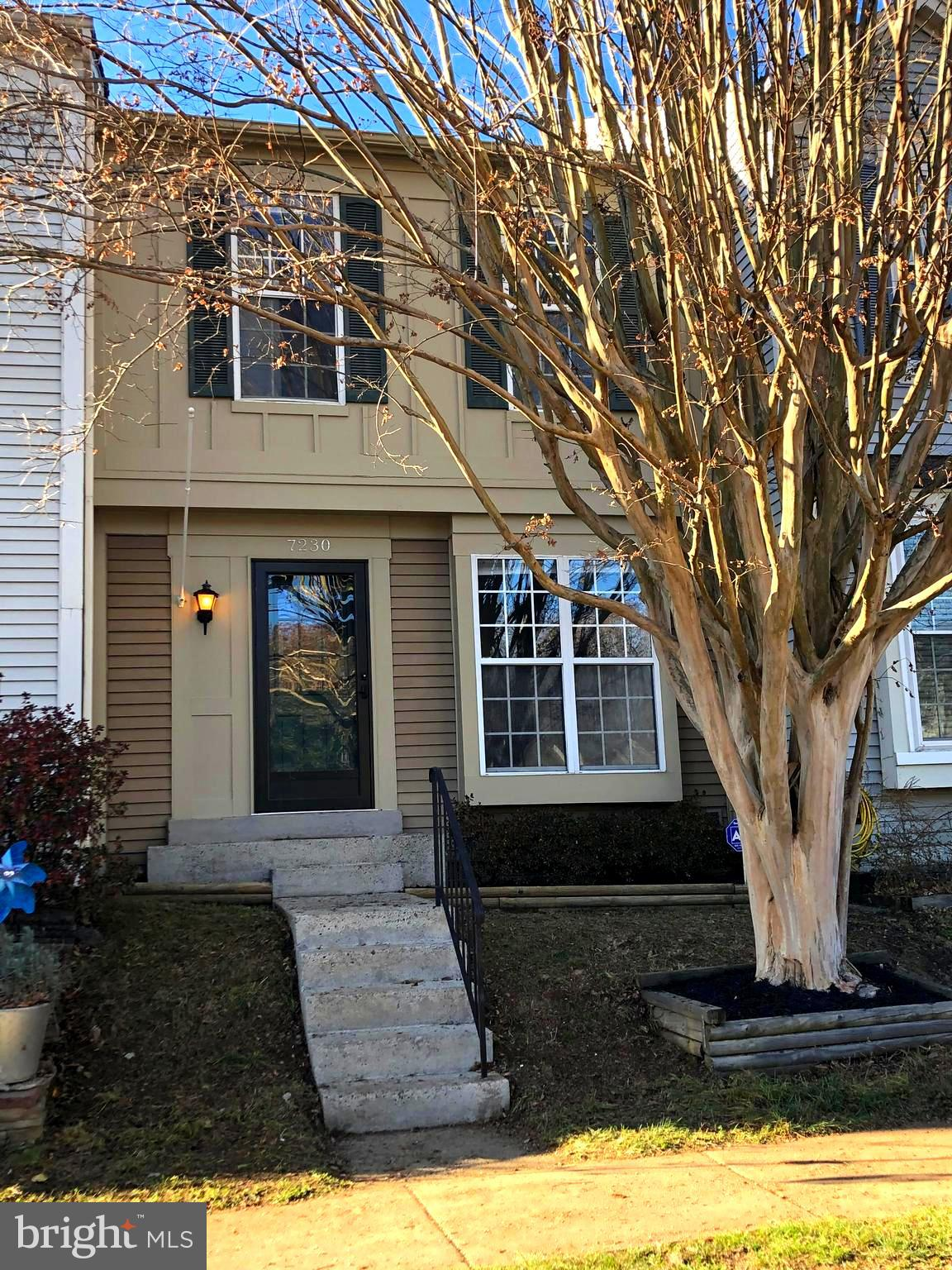 Rare 3-bedroom 3-level townhome in quiet and convenient Woodstone community.  Bright and freshly pai