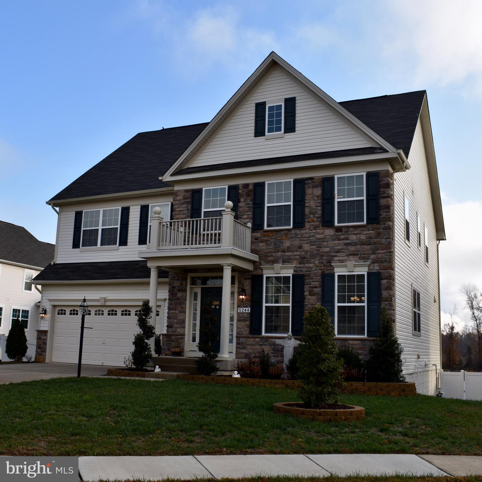 Better-than-new home with assumable 3.5% VA loan.  Extensive front landscaping,  deck, wifi lawn irr