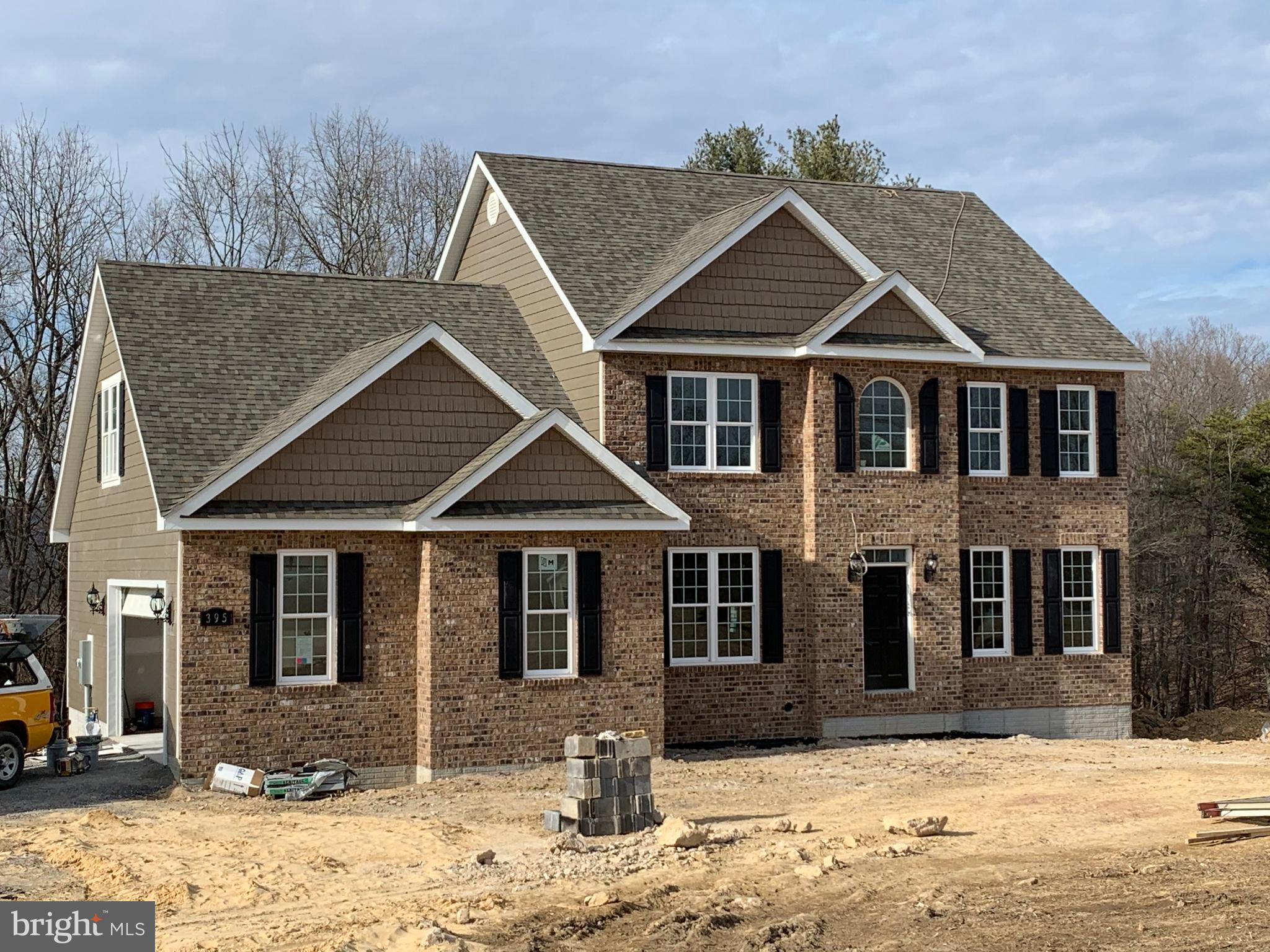 Spec house to be completed  1-31-20 (lot 10). No HOA & w/in 15 min. of Winchester.  Private setting