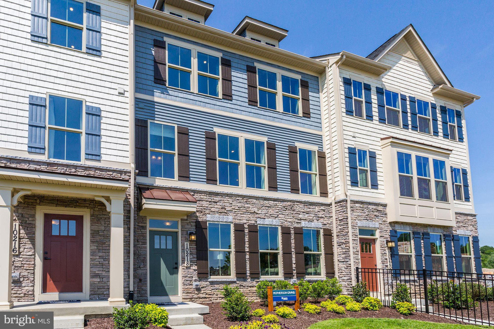 McPherson Grand for March/April delivery in Lake Linganore Community . Town home living with the lux