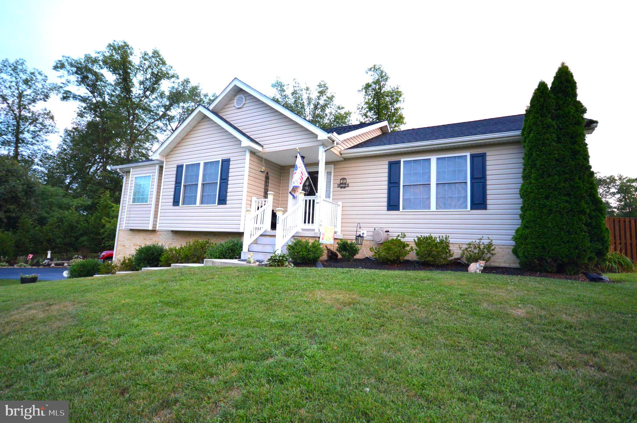 Meticulously cared for ranch style home with attached two car garage coming soon. Situated on a corn