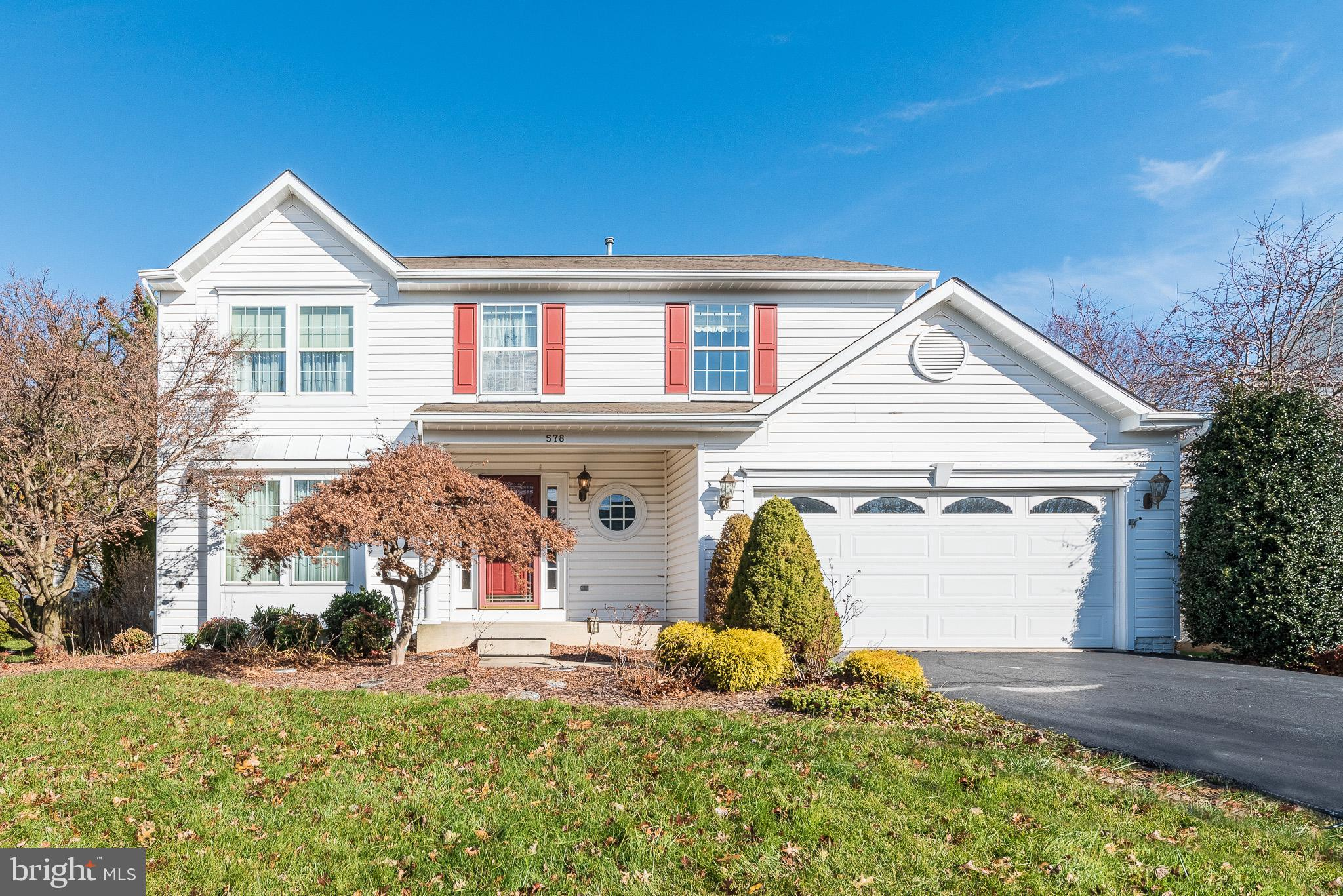 Don't miss this beautiful 4BR 2 full/2 half bath 2 car garage colonial in Irwin's Choice!  Everythin