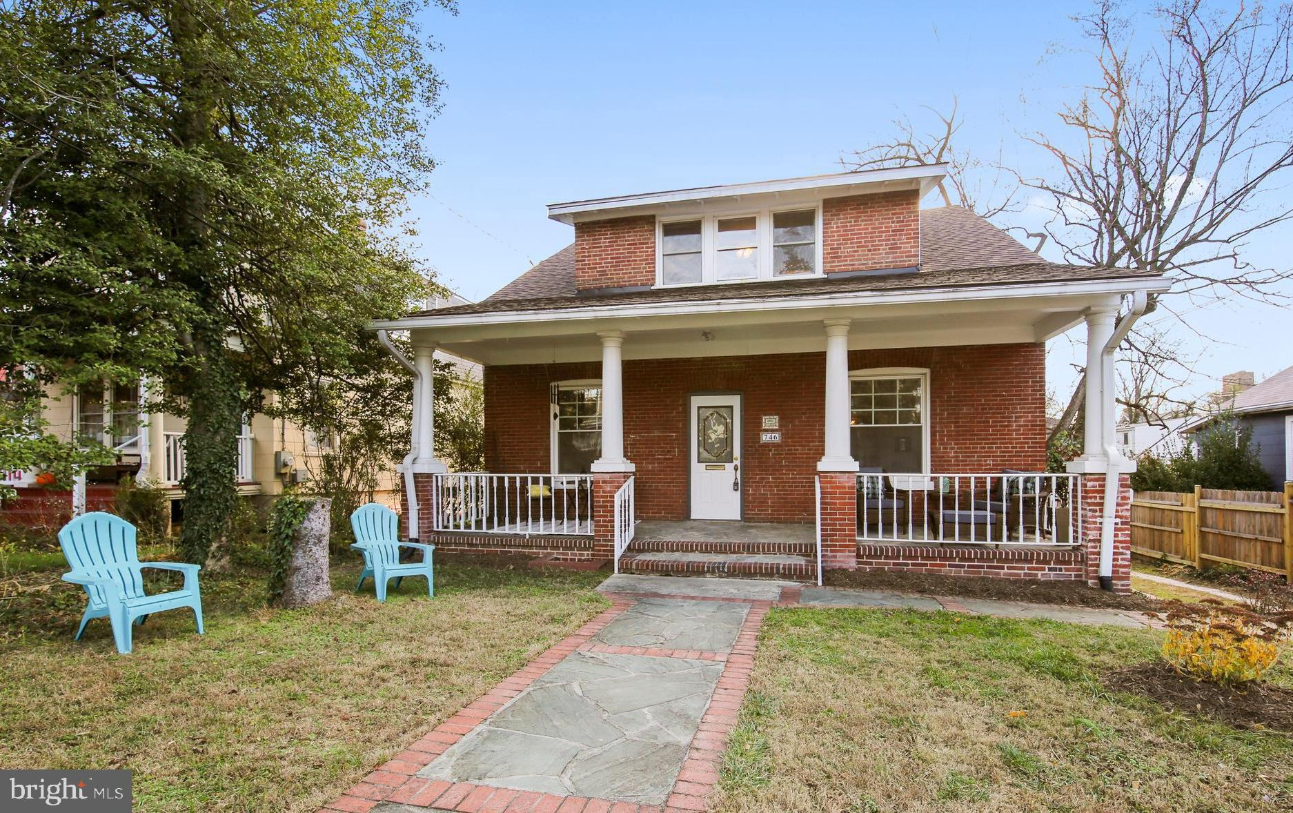 Incredible Opportunity in vibrant Downtown Silver Spring!    Spacious brick multi-family home with h