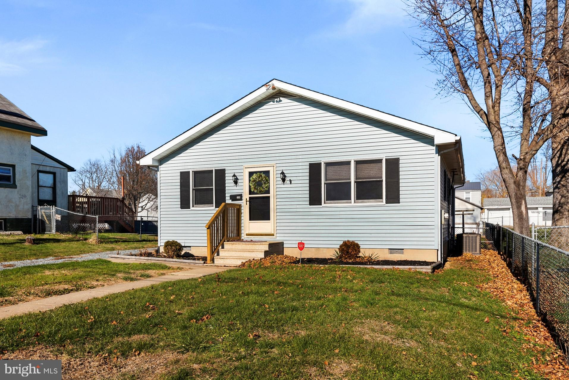 A delightful 3 bedroom, 2 full bath ranch with 2 car garage located on a quiet street in the town of