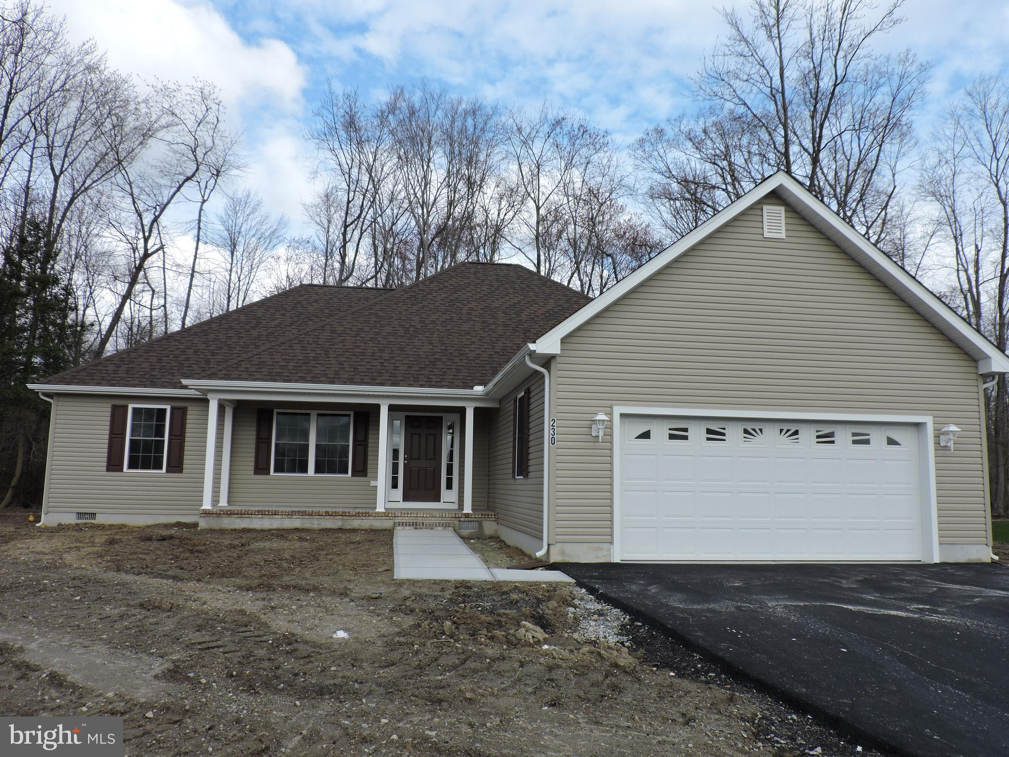 INCREDIBLE VALUE - NEW CONSTRUCTION  1,733 SF (DAVID IV - ONE STORY FLOOR PLAN) features three (3) b