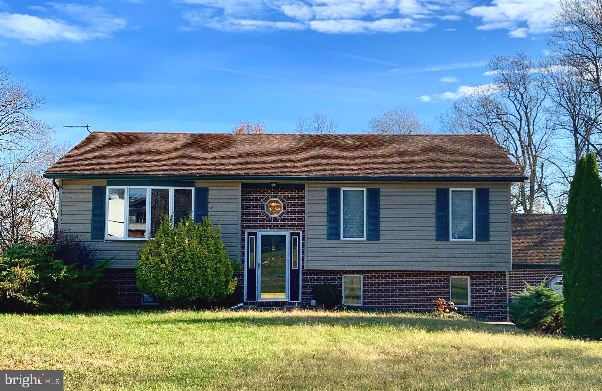 Located in Arundel and close to Elk River...  Features detached 2-car garage, storage shed, finished