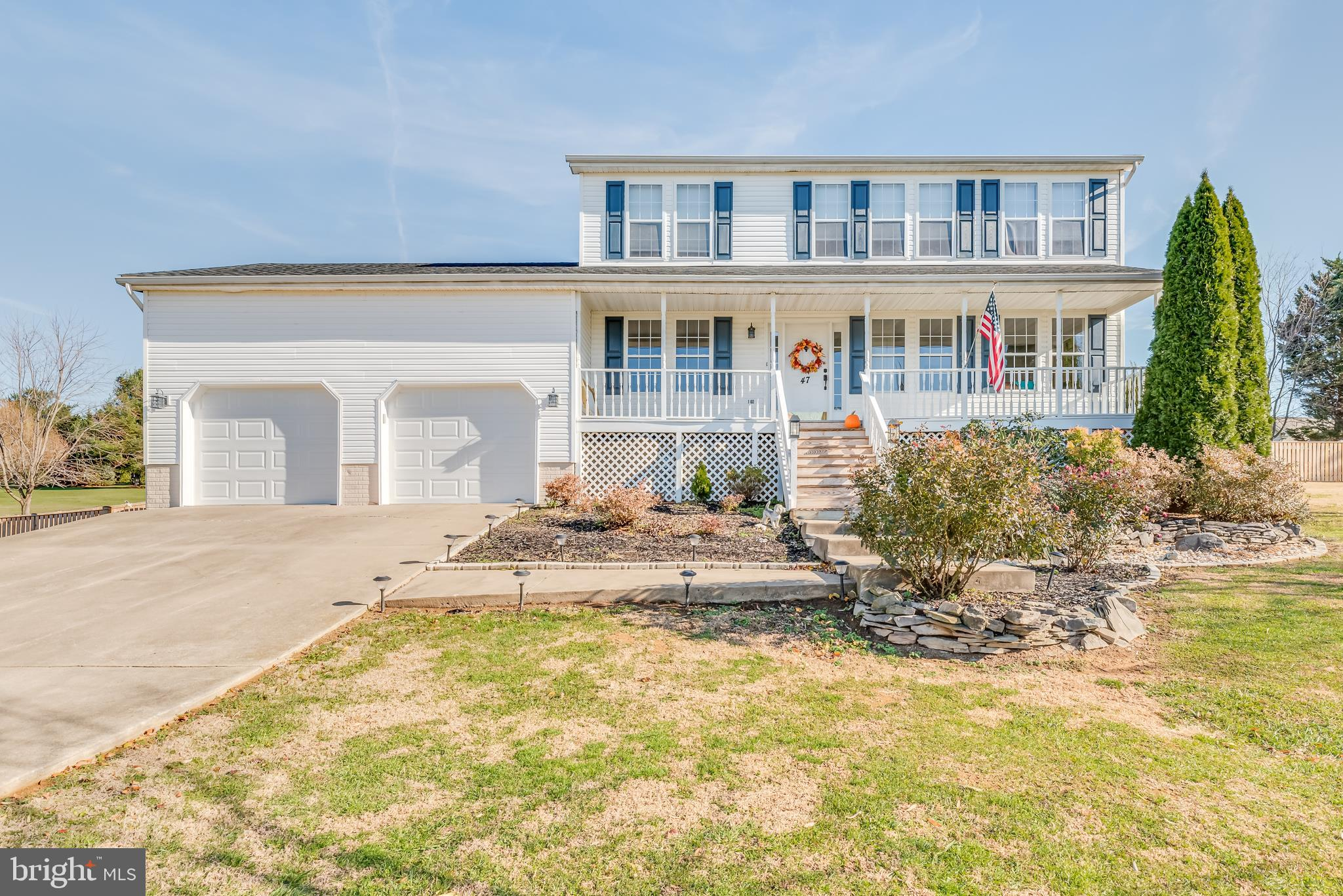 This classic 4 bedroom 3.5 bath colonial sits atop a picturesque lot. The main level includes the di
