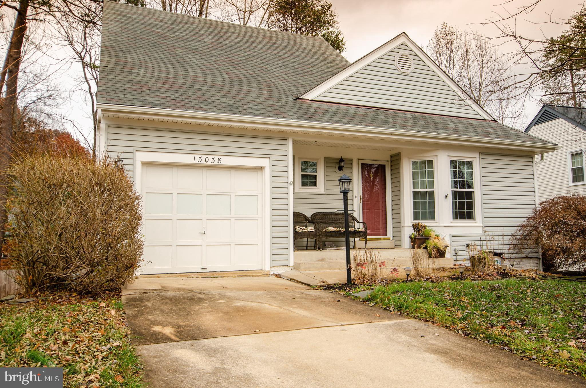 Cute as a button...this 4 Bedroom 2 Bath home Features 2 main Level bedrooms,  Large master with a f