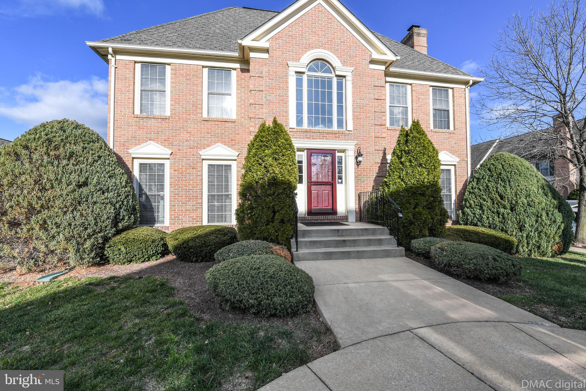 Gorgeous end unit townhome located in Wormans Mill. Walking distance to center square of Wormans Mil