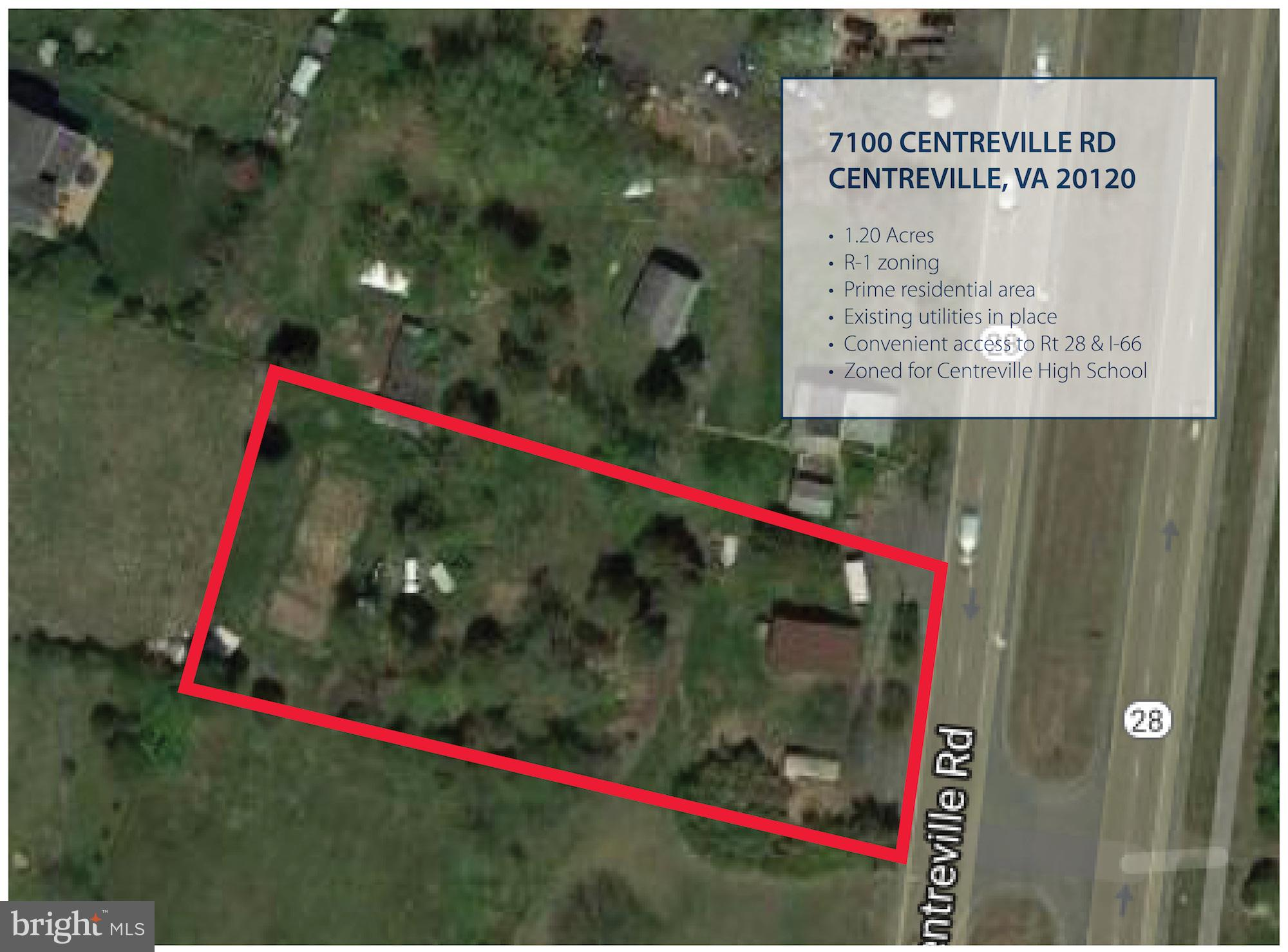 """Value is in the land, home """"as-is"""" only and no access provided.  1.20 acre build-able lot in Fairfax"""