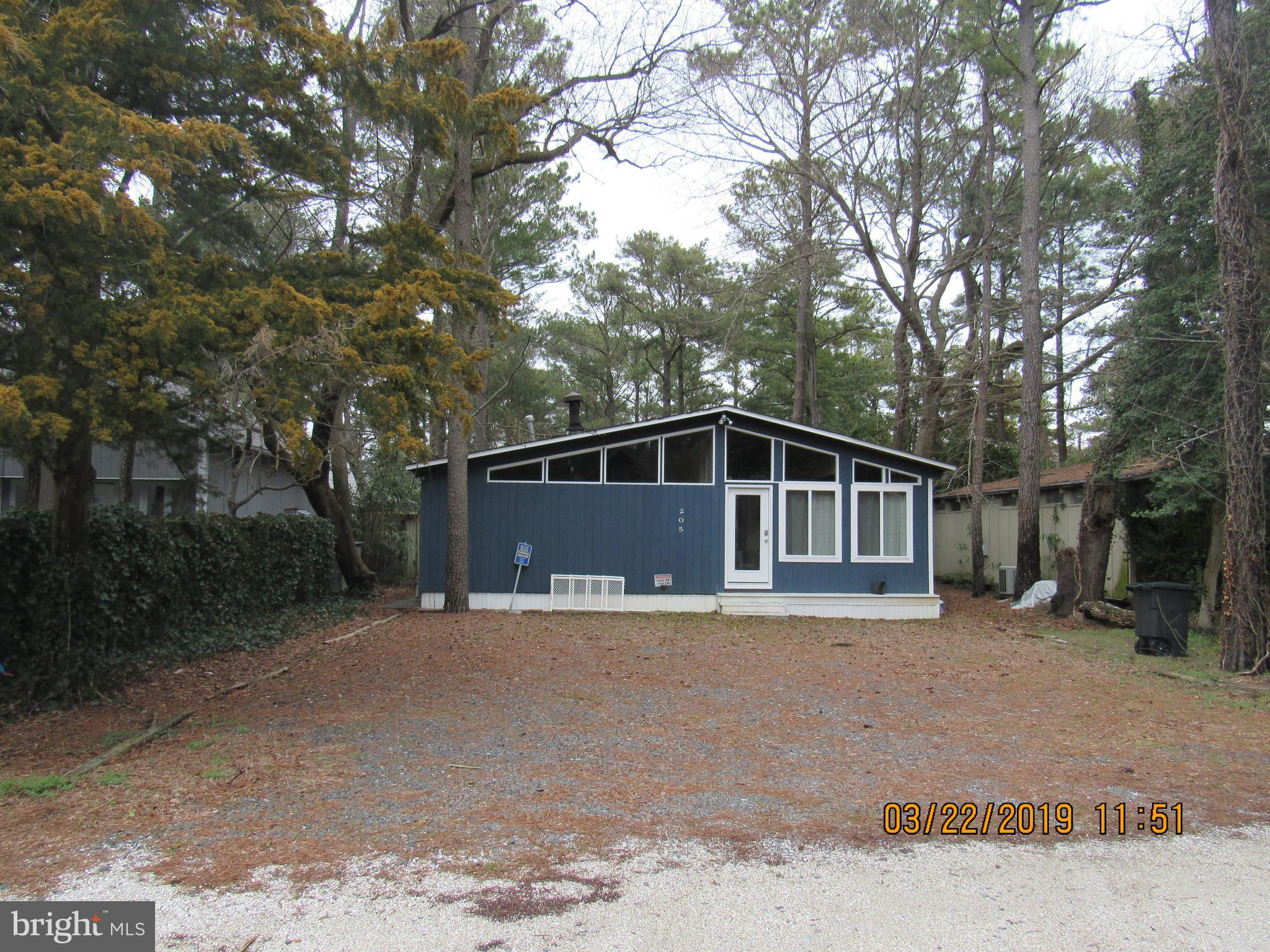 Come see your new summer home or year round home.  Located in Dewey Beach and 2 blocks from the Ocea