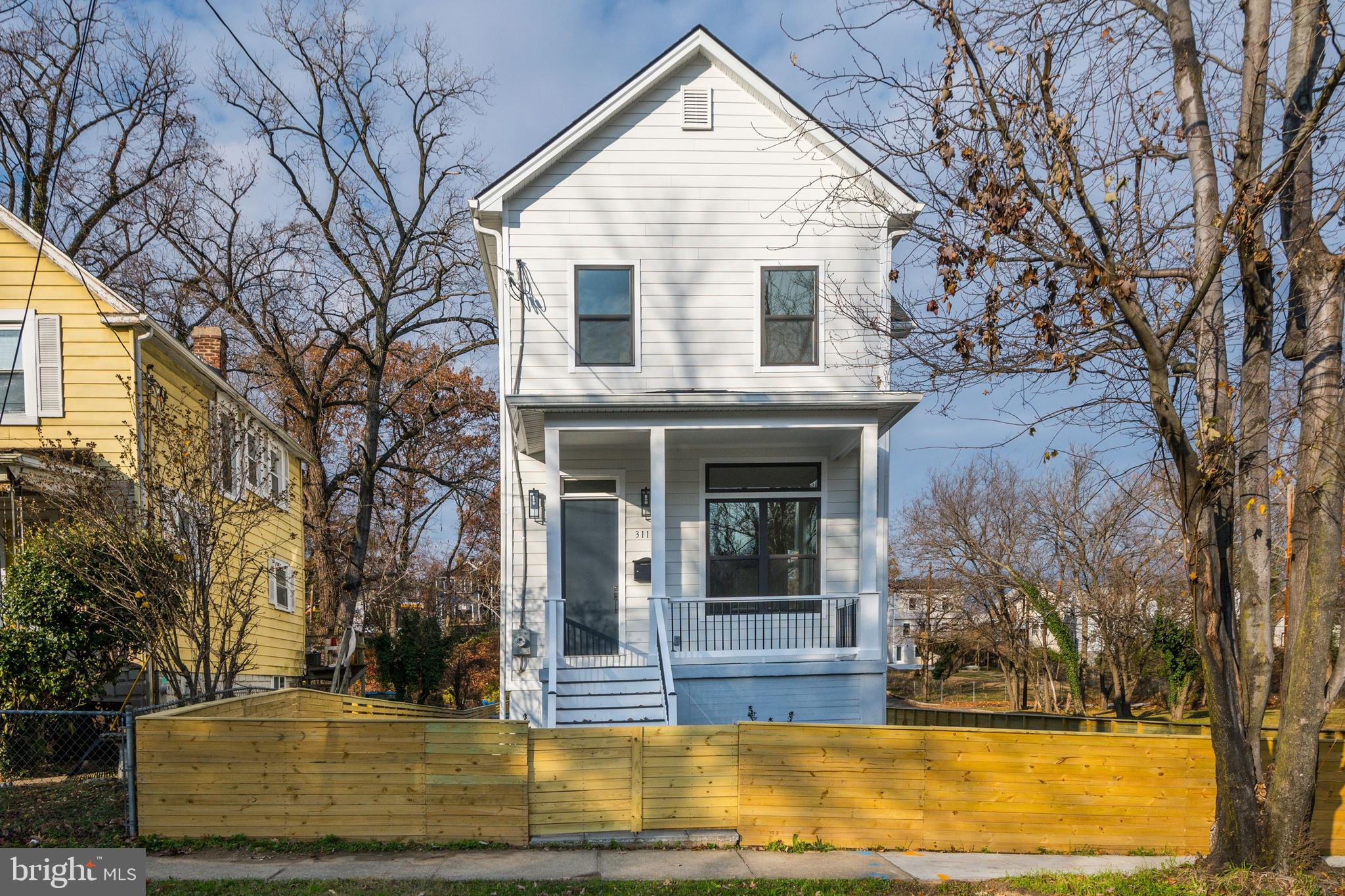 Completely renovated in 2019, 3110 Monroe St NE is a modern home featuring high ceilings, an open fl