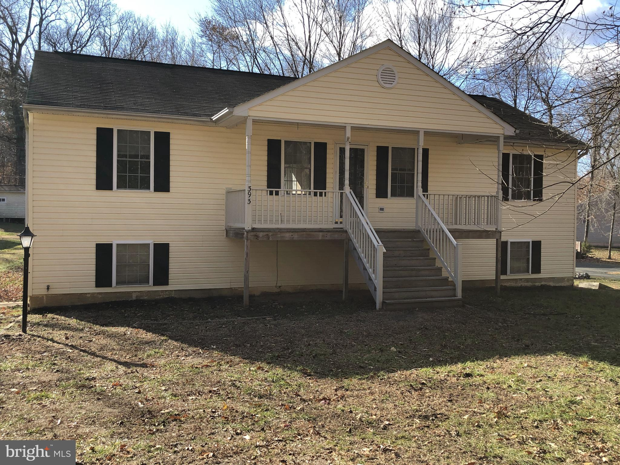 A spacious rambler on over an acre just past Potomac Point Winery.  Enjoy over 2400sf on 2 finished