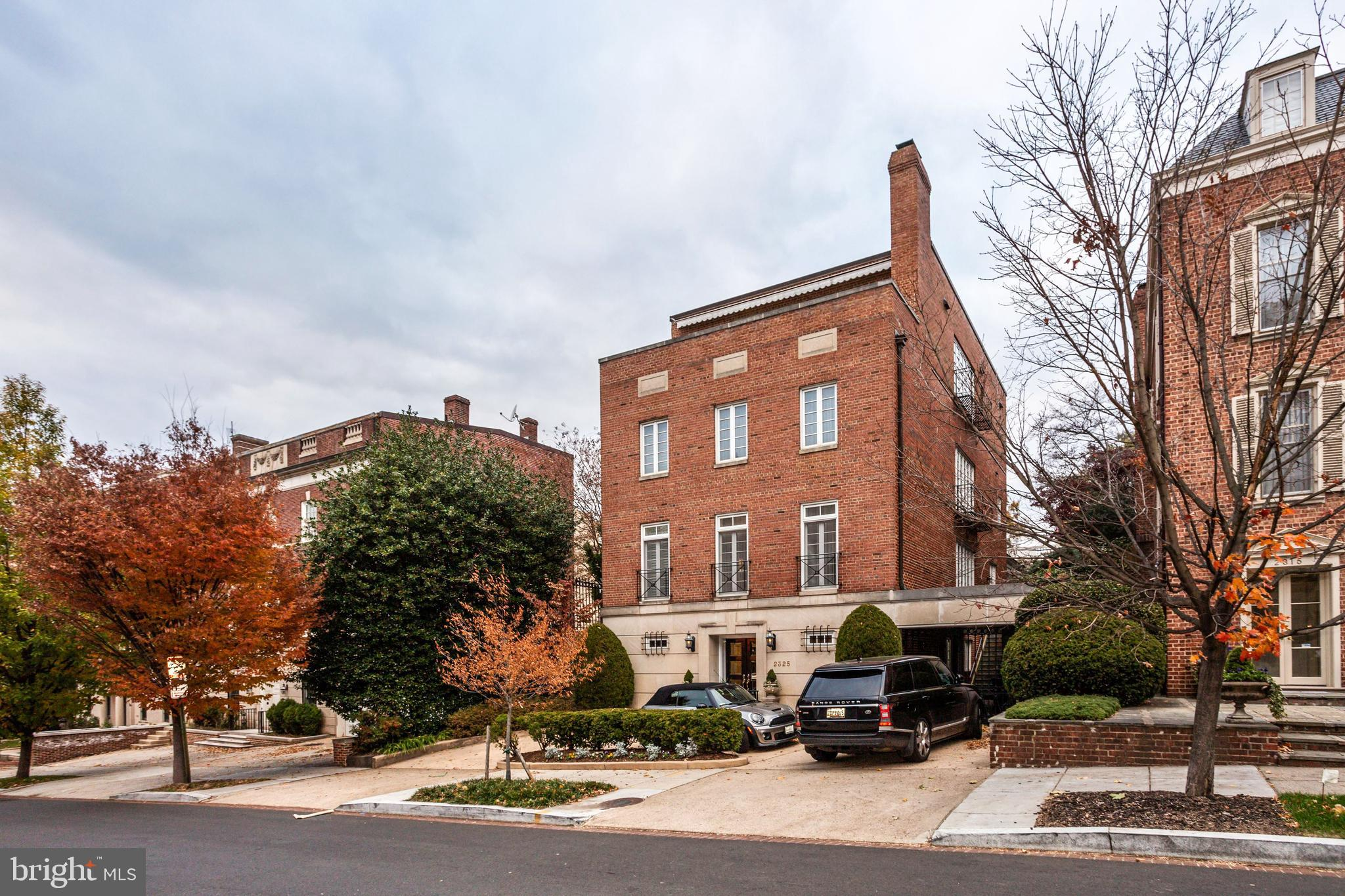 Kalorama ranks as one of the finest neighborhoods in America with diplomatic and historic residences