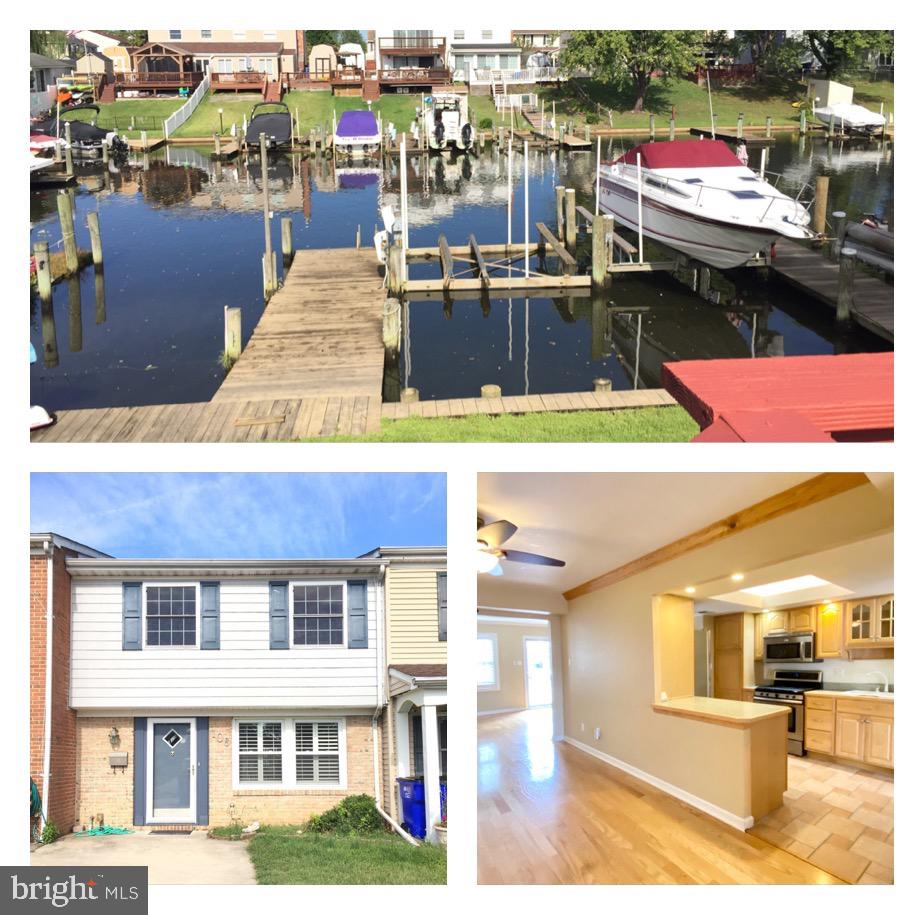 This totally updated waterfront townhouse is turn key and ready to move-in... all bathrooms have bee