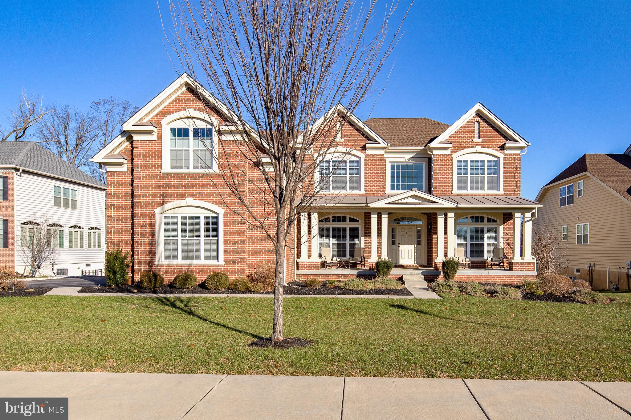 A rare find in Greenville Overlook, a new luxury Toll Brothers community, on one of the few premium