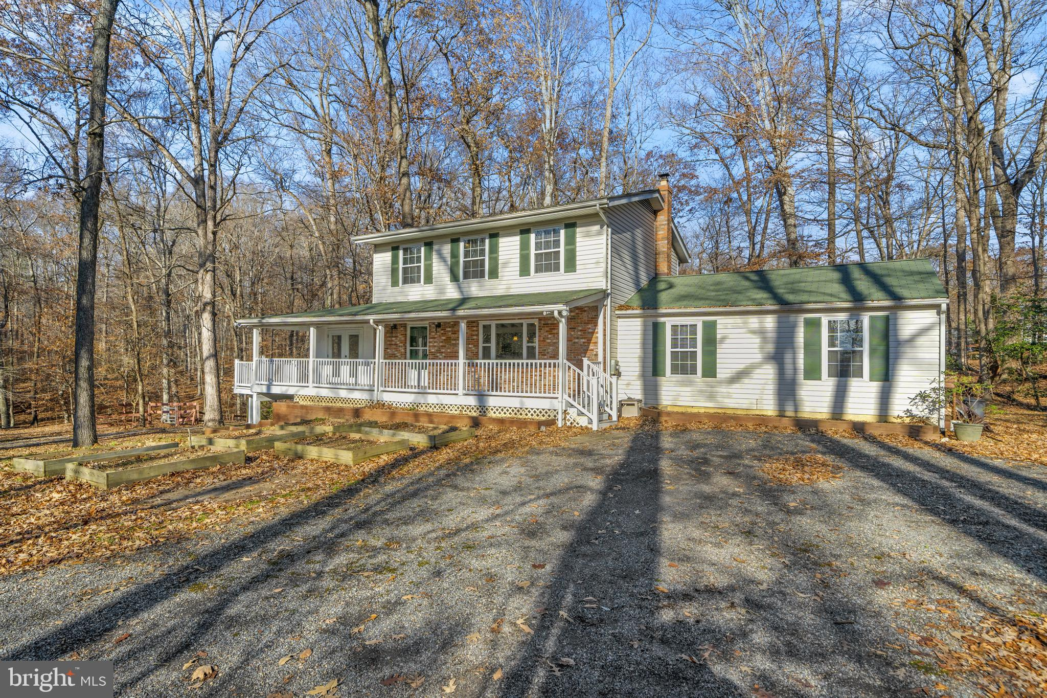 This totally updated farmhouse has something for everyone, inside and out.  Hardwood floors, stainle